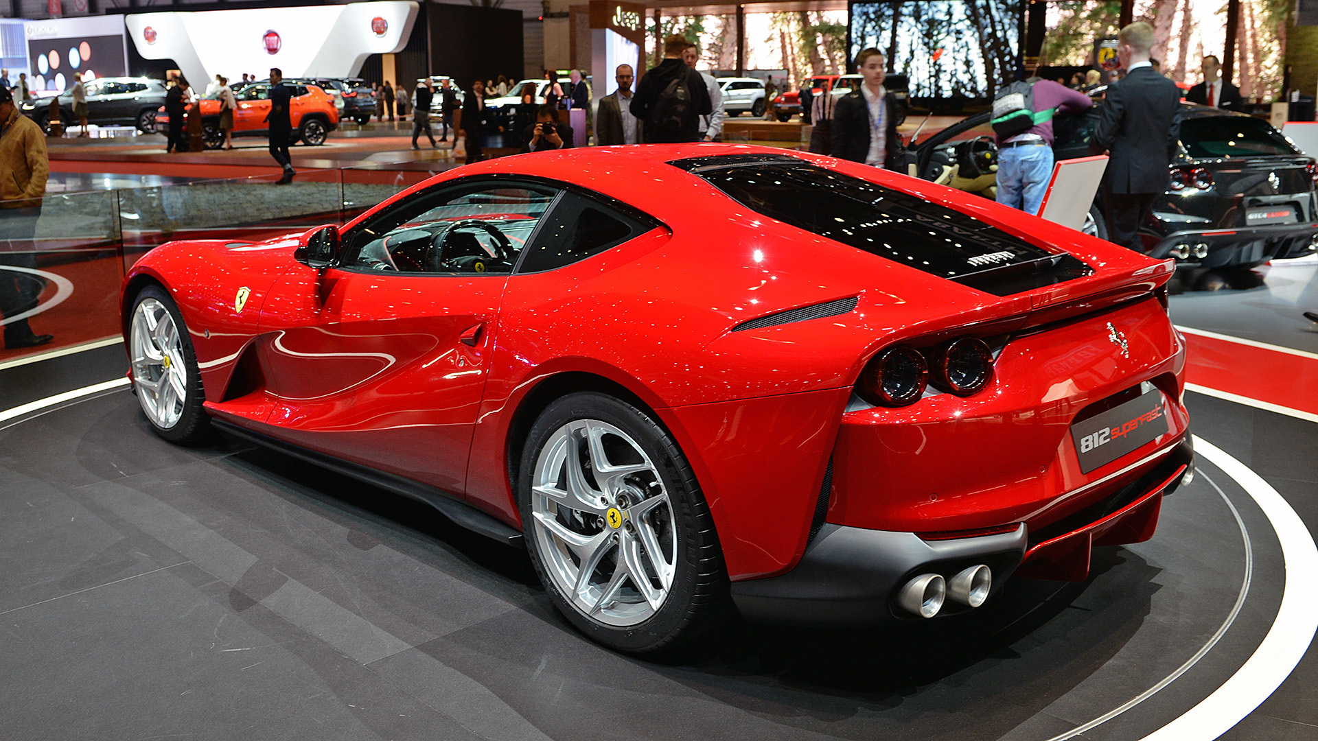 Italian Cars Of Geneva
