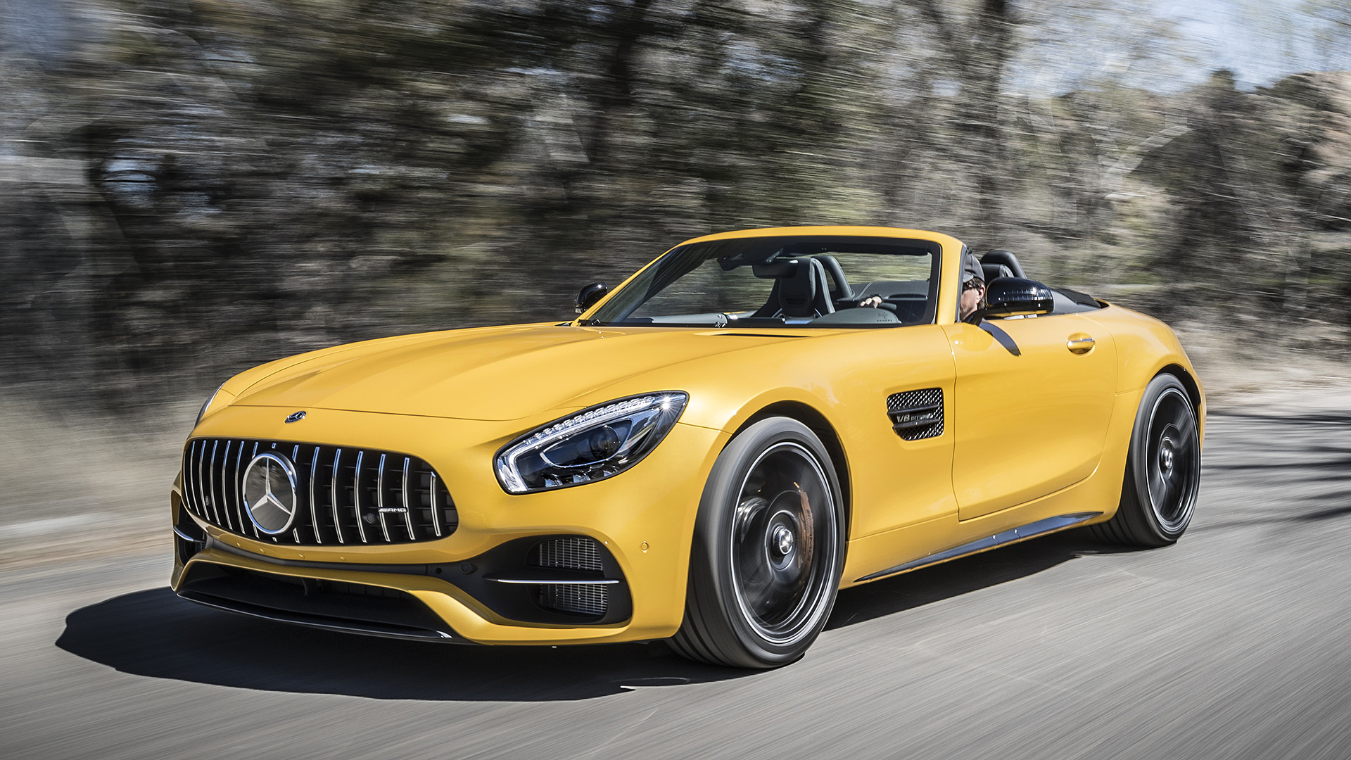 Vicious Beauty 2018 Mercedes Amg Gt C Roadster First Drive Autoblog