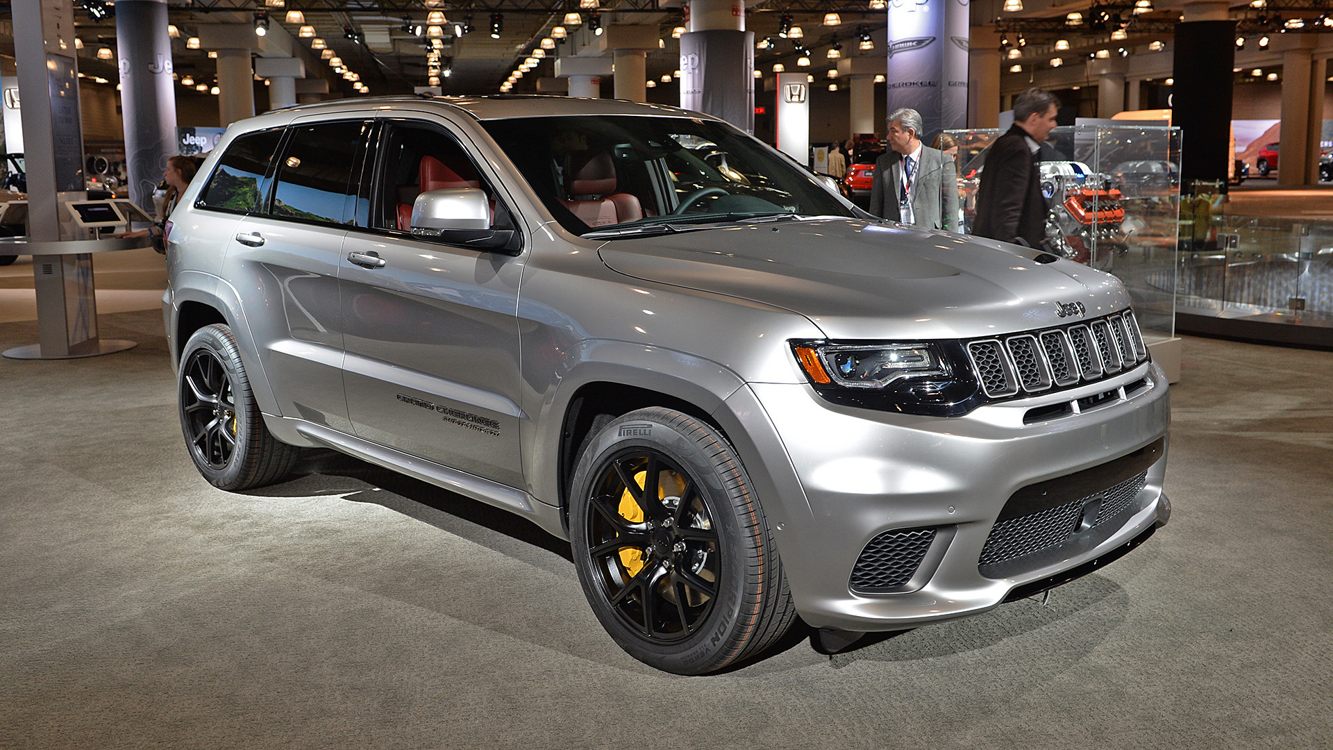2018 jeep grand cherokee. exellent cherokee 2018 jeep grand cherokee trailhawk new york 2017 photo gallery  autoblog and jeep grand cherokee