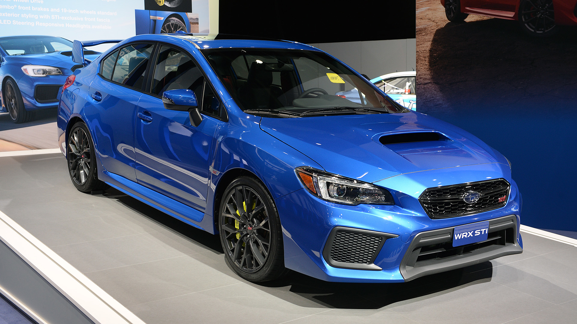2018 subaru impreza wrx sti detroit 2017 autoblog. Black Bedroom Furniture Sets. Home Design Ideas