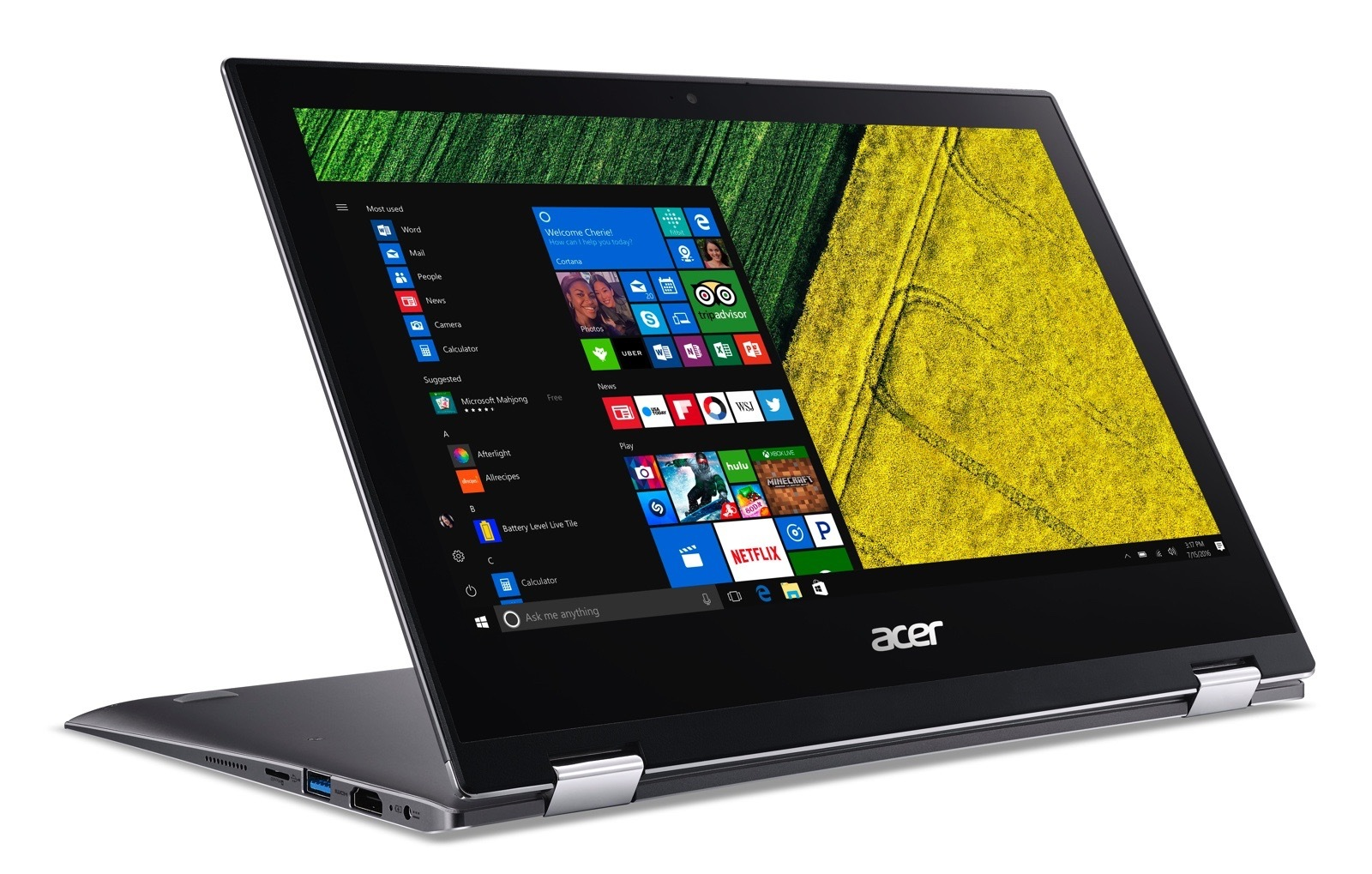 Like Its Predecessor Users Will Be Able To Prop Up The New Acer Spin 1 In Tent Display Or Tablet Mode Thanks Return Of 360 Degree Hinge