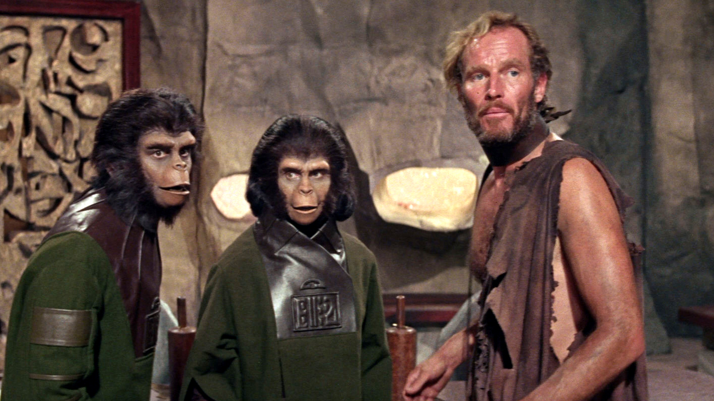 1. 'Planet of the Apes' (1968)
