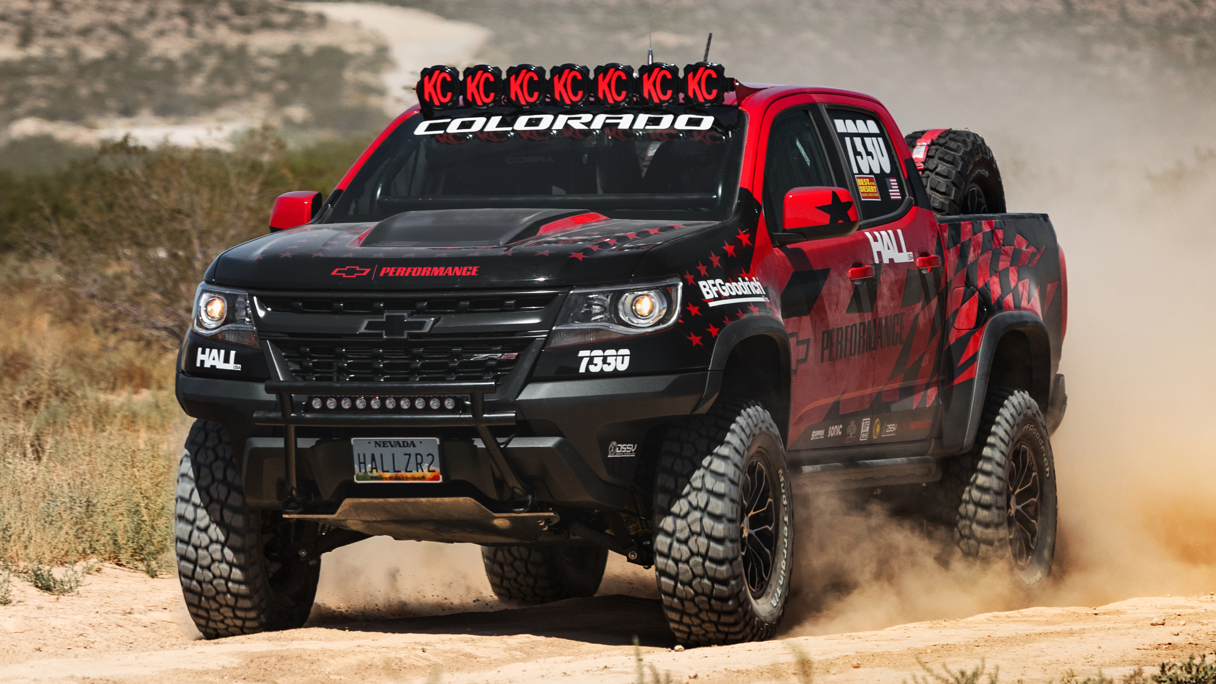 Mostly stock Chevy Colorado ZR2 will do Vegas to Reno with ...