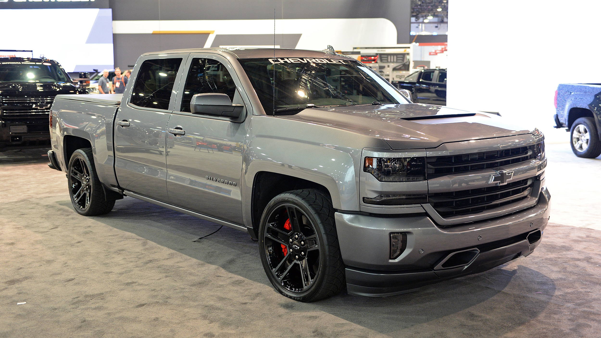 Chevrolet supercharges the Silverado Performance concept ...