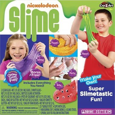 chaptersindigo everyone knows kids love slime and with this kit they can make their own in glow glitter and neon colours ages 6