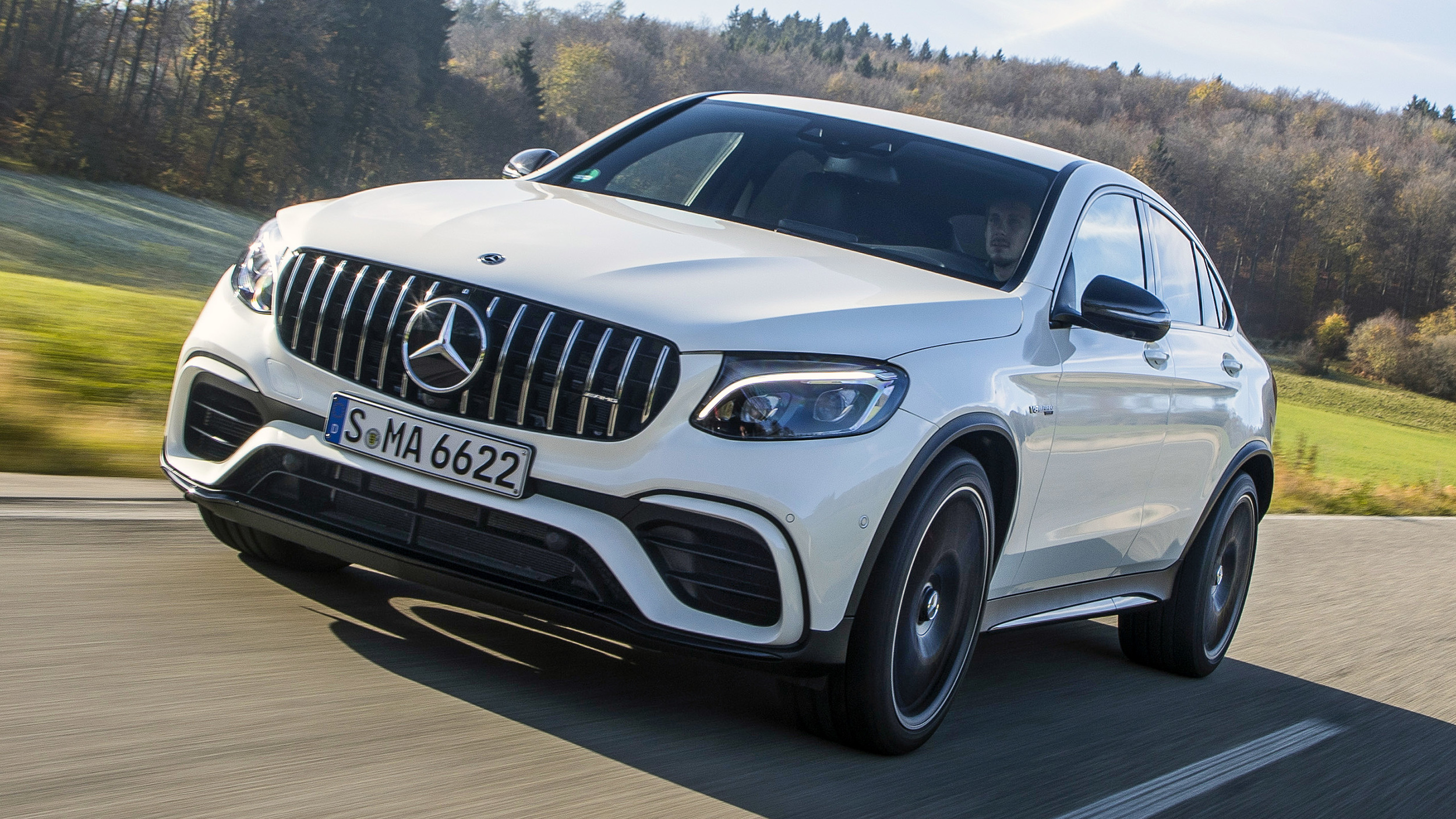 2018 Mercedes Amg Glc 63 S 4matic Coupe Review Autoblog