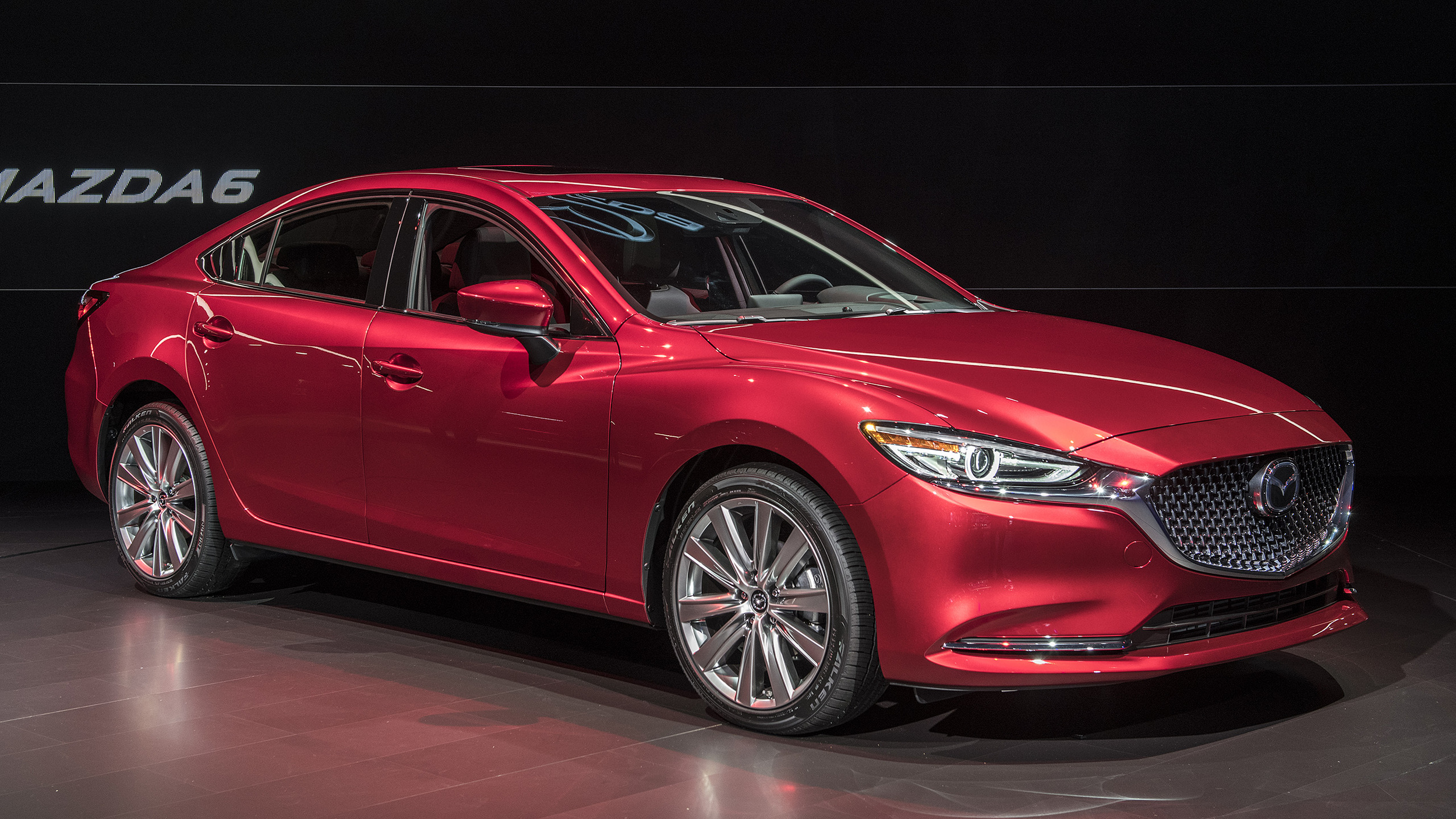 2018 mazda6 la 2017 autoblog. Black Bedroom Furniture Sets. Home Design Ideas