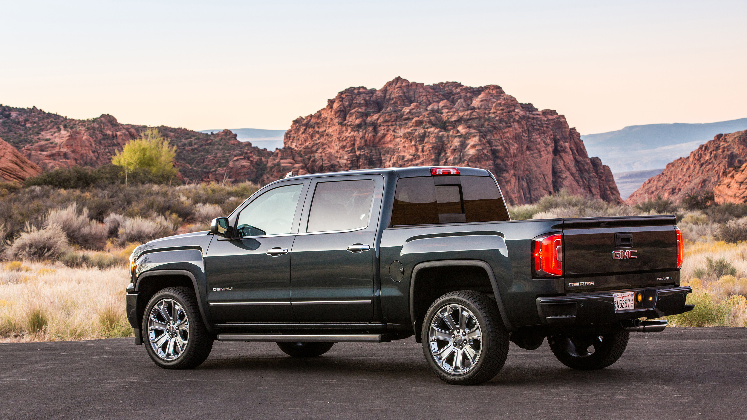 Commercial Truck Values >> The 2018 GMC Sierra Denali 1500 is the sister truck to the ...