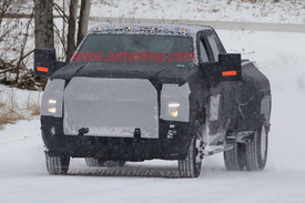 Spy Photos: Chevy Silverado HD and 3500 Dually - Autoblog