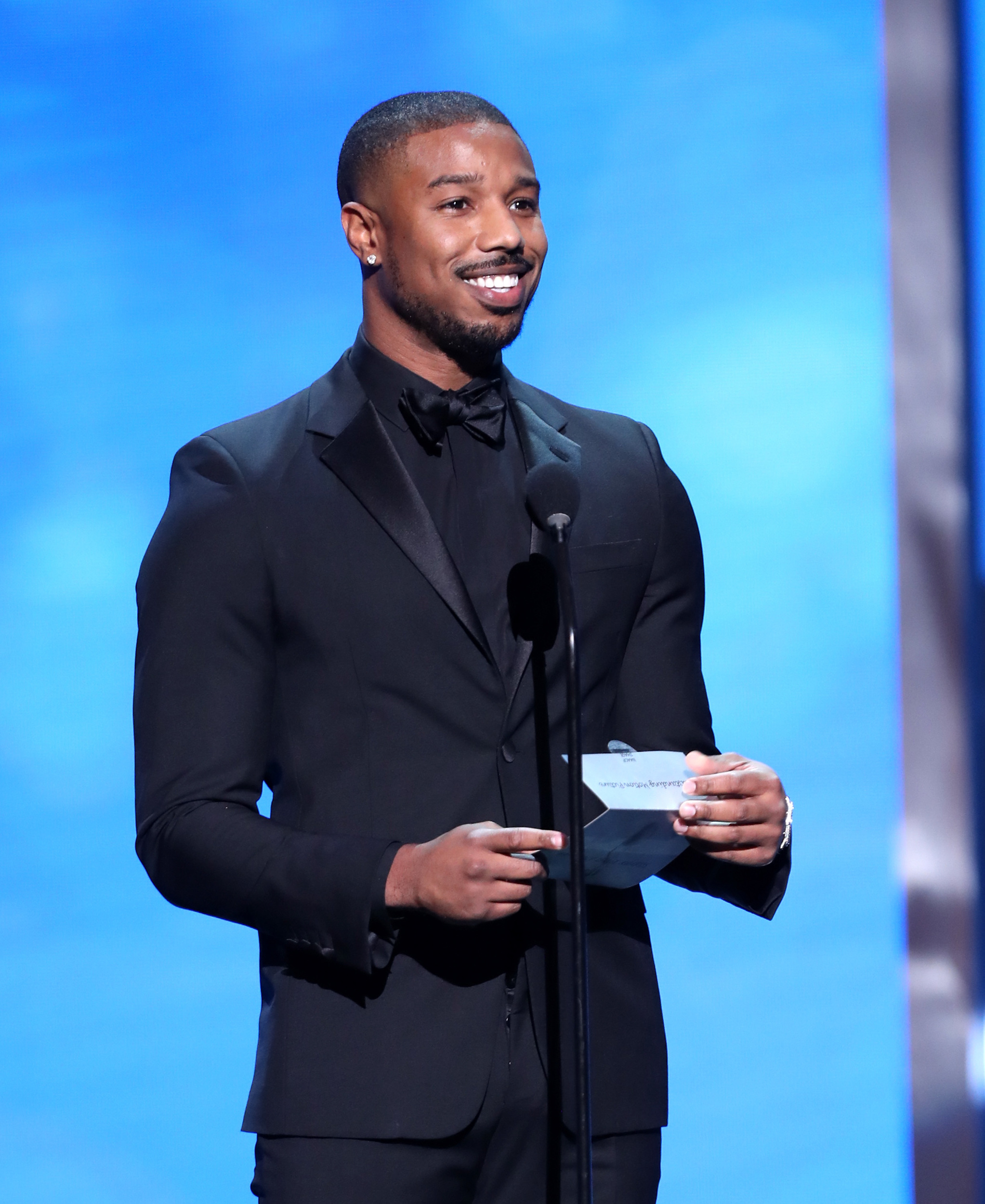 Man of the Year Michael B. Jordan used to sneak into GQ's parties