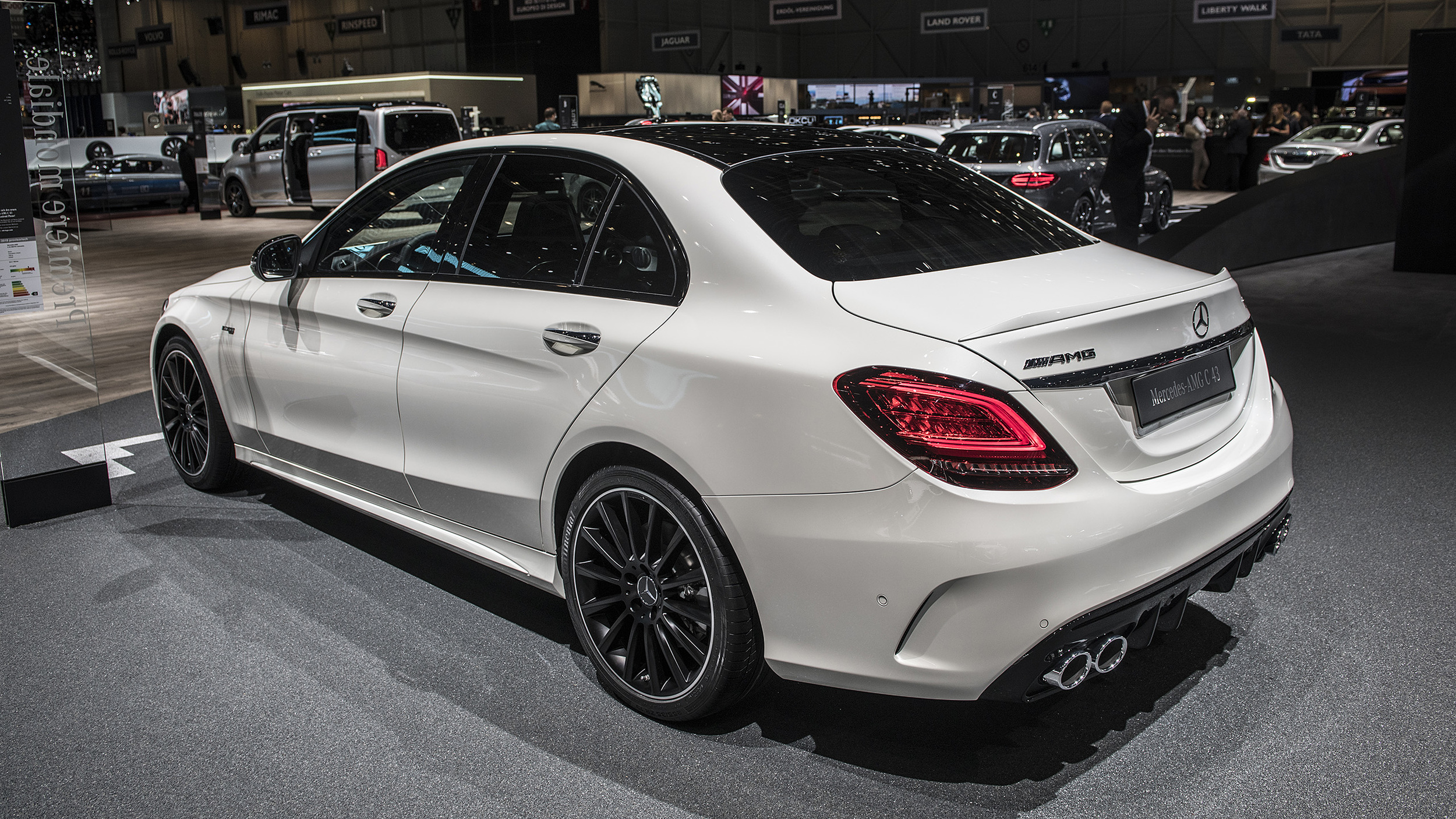 2019 Mercedes Amg C43 Sedan Geneva 2018 Photo Gallery Autoblog