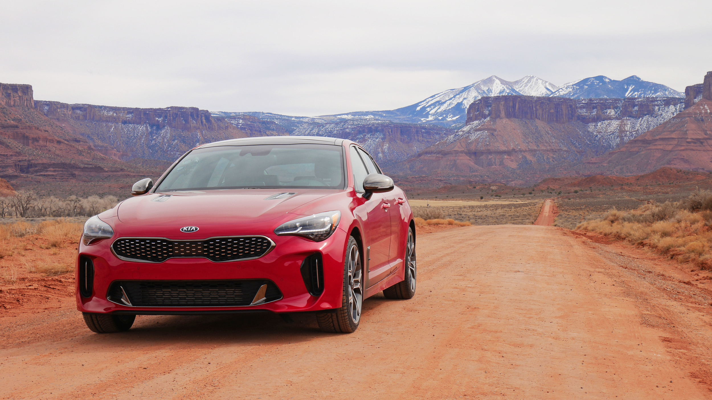 Stinger goes West: Saddle up for 1,400 miles in the 2018 Kia