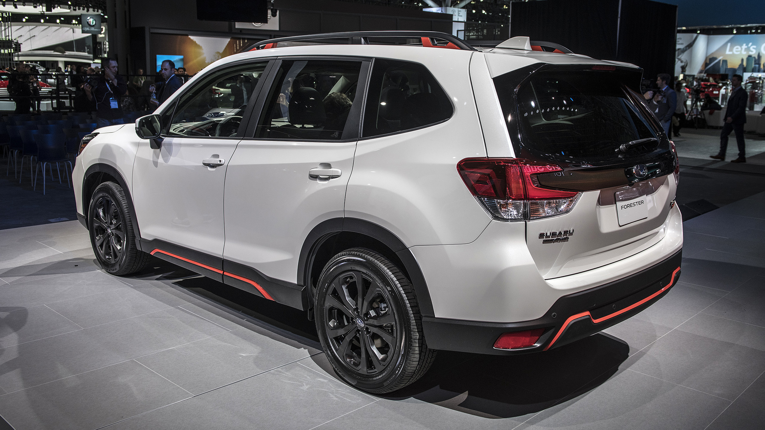 2019 Subaru Forester Sport New York 2018 Photo Gallery