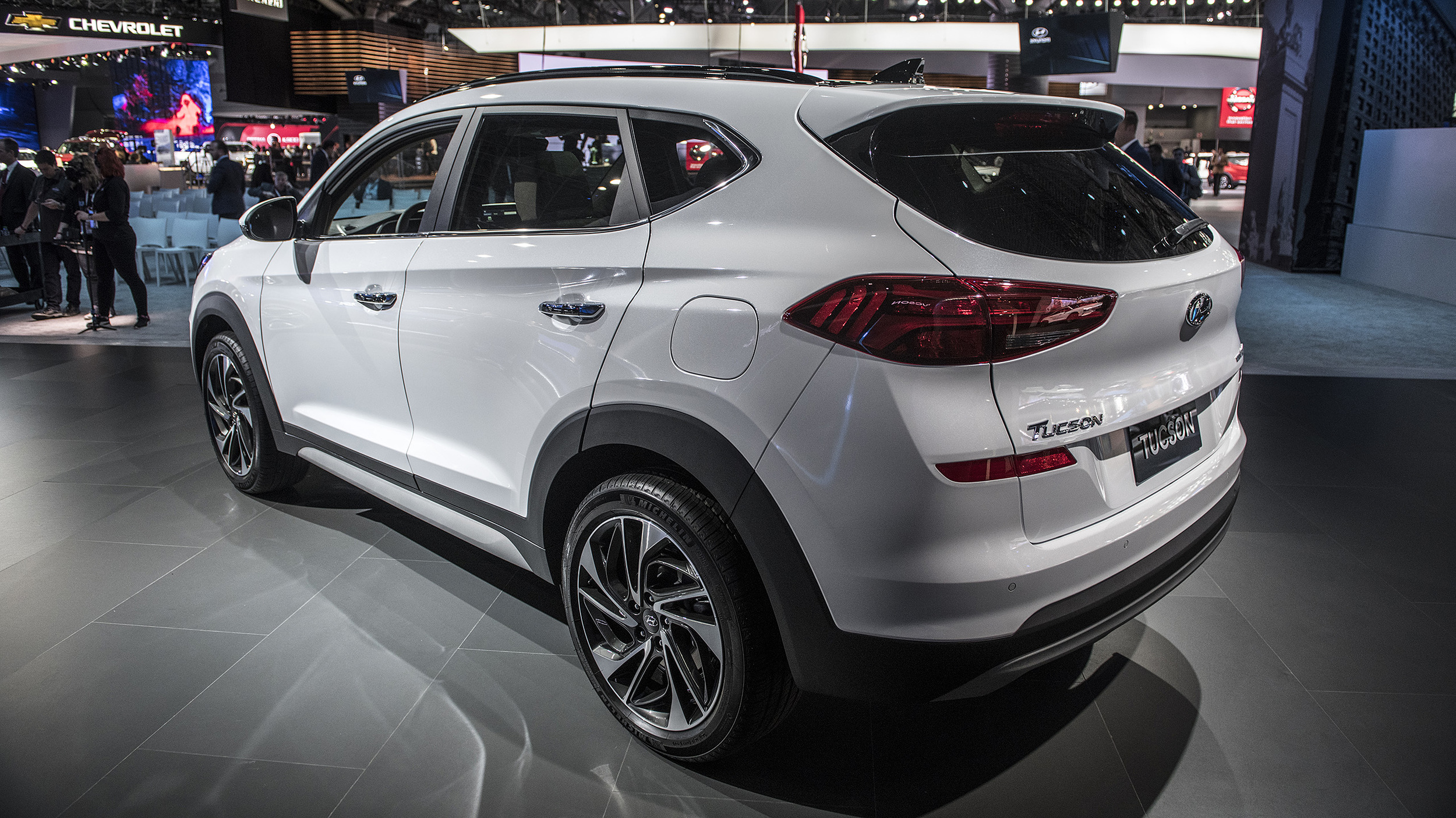 Hyundai Certified Pre-Owned >> 2019 Hyundai Tucson refresh revealed at New York Auto Show ...