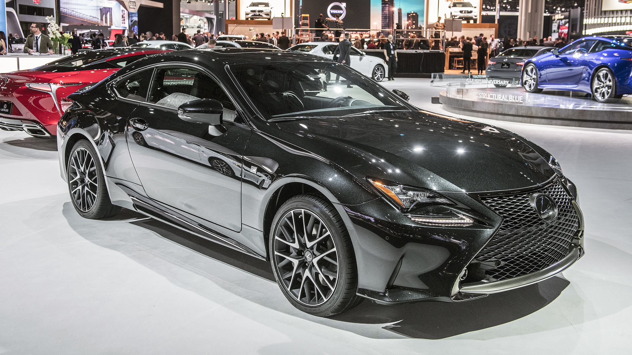 Black Book Car Values >> Lexus RC coupe Black Line special edition limited to just 650 units | Autoblog