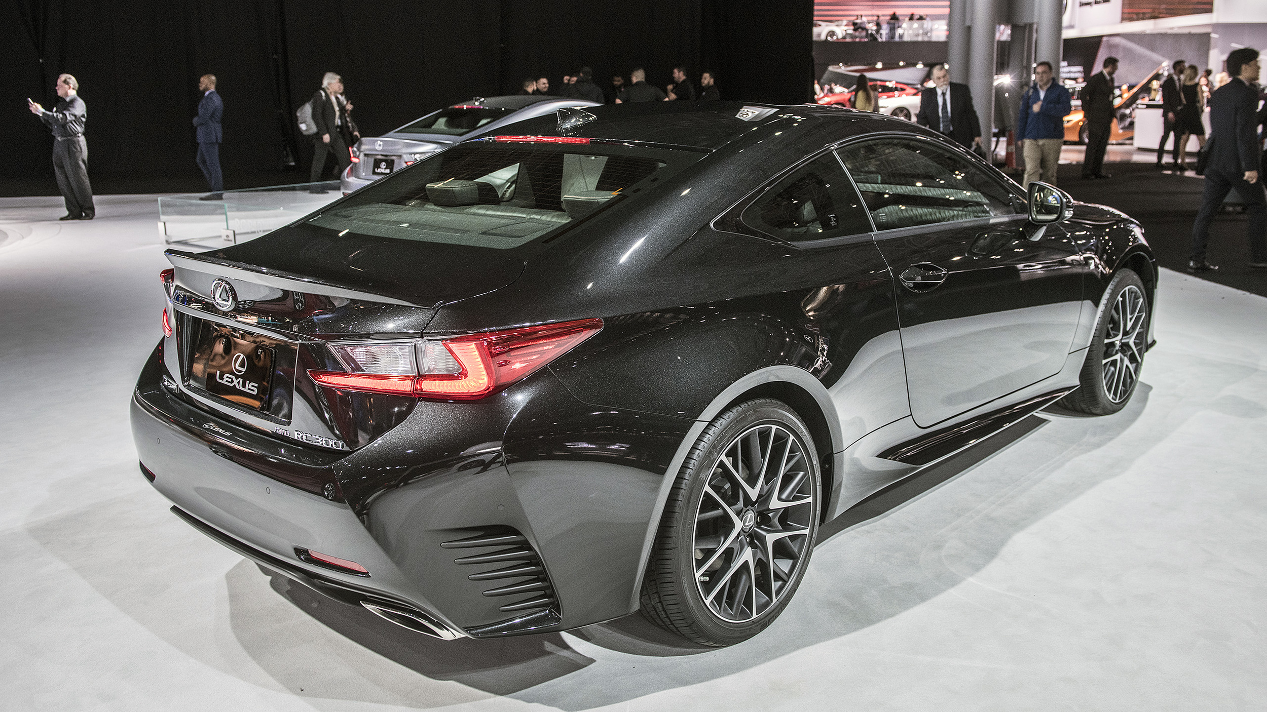 Certified Pre Owned Lexus >> Lexus RC coupe Black Line special edition limited to just 650 units | Autoblog