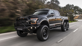 Hennessey VelociRaptor 6x6 modified Ford F-150 road test ...