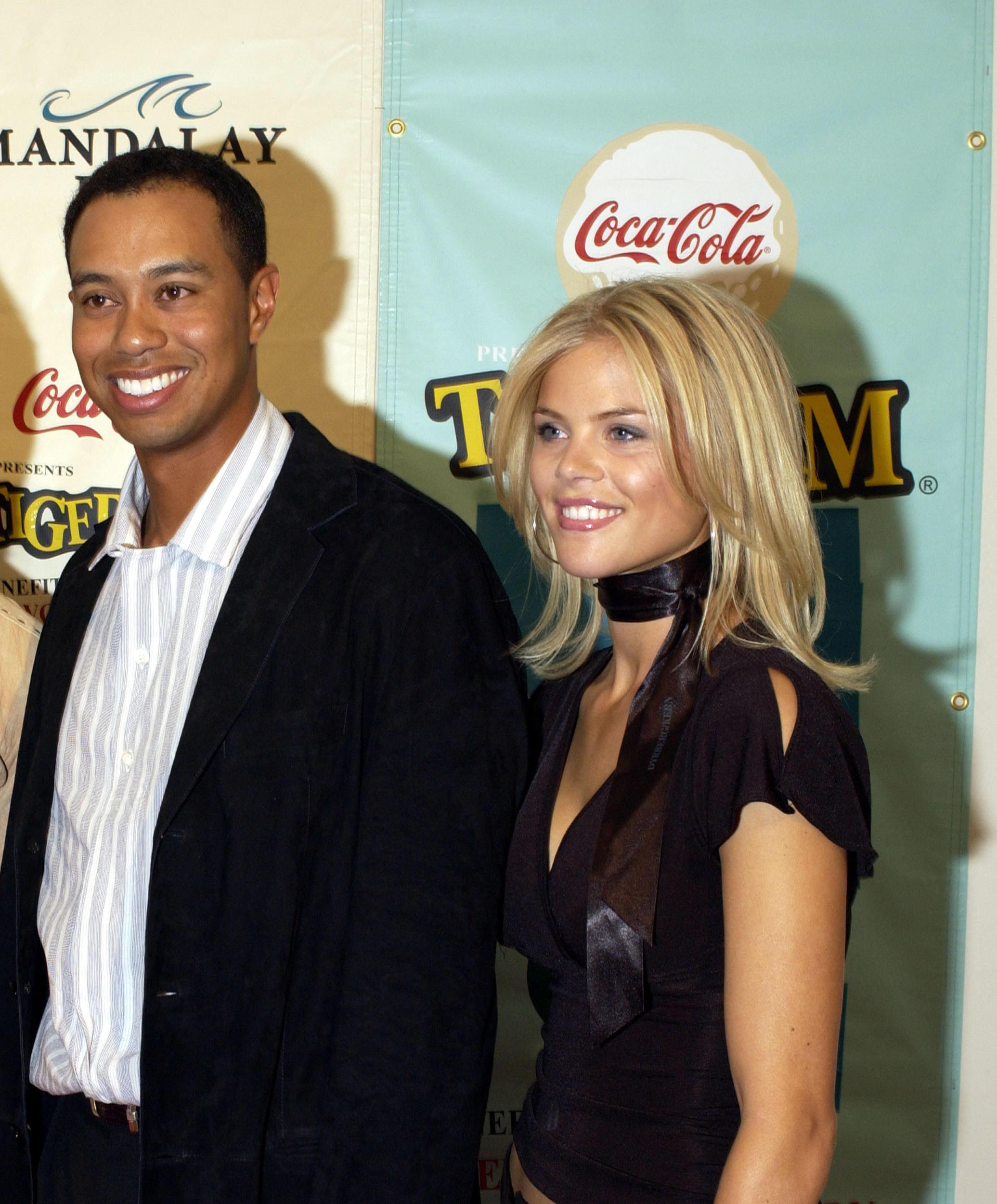 Tiger Woods made a rare public appearance with girlfriend ...