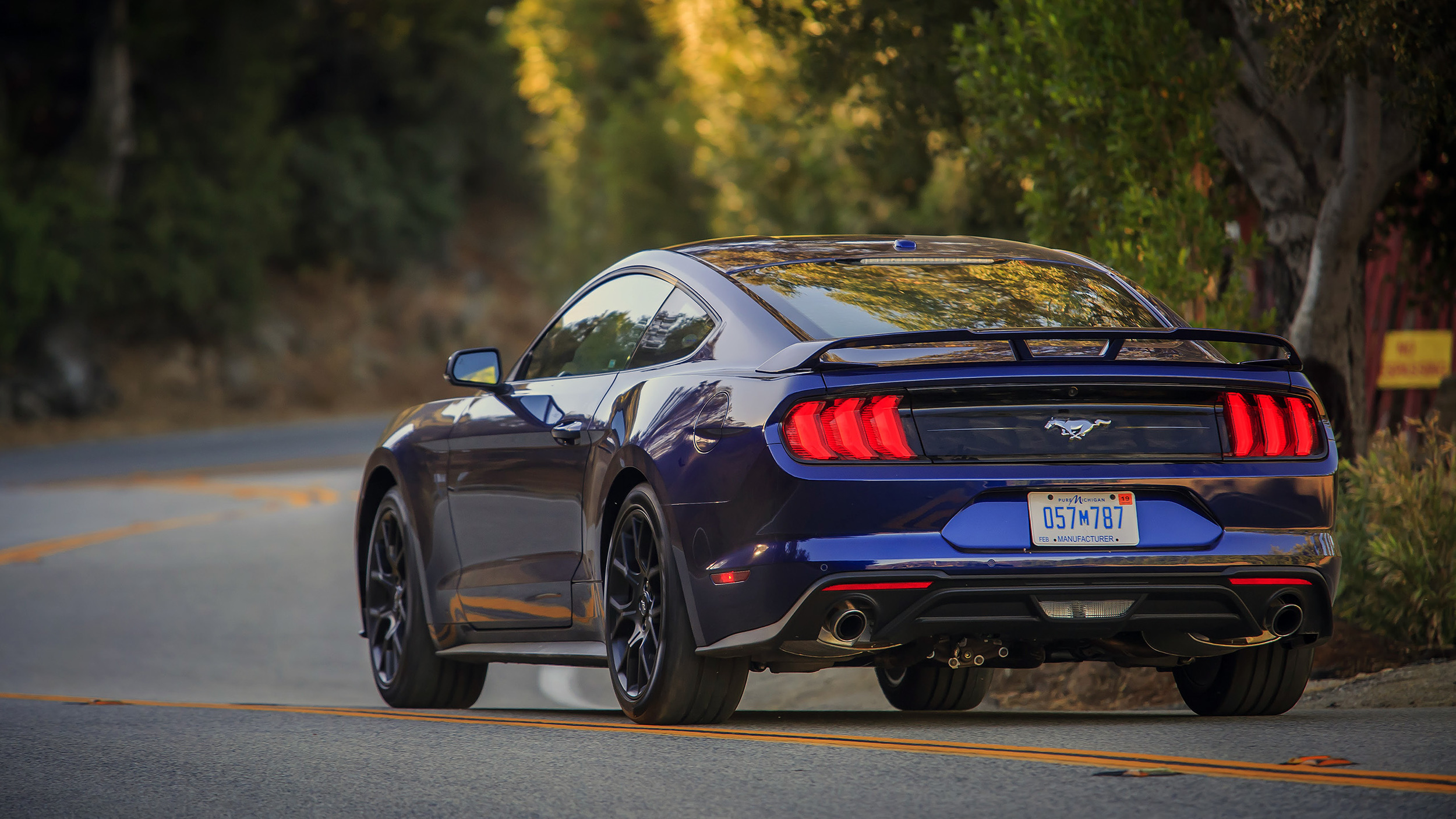 2018 Ford Mustang Ecoboost Review Magnetic Suspension Is A
