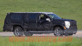 2020 Chevy Suburban independent rear suspension spied ...