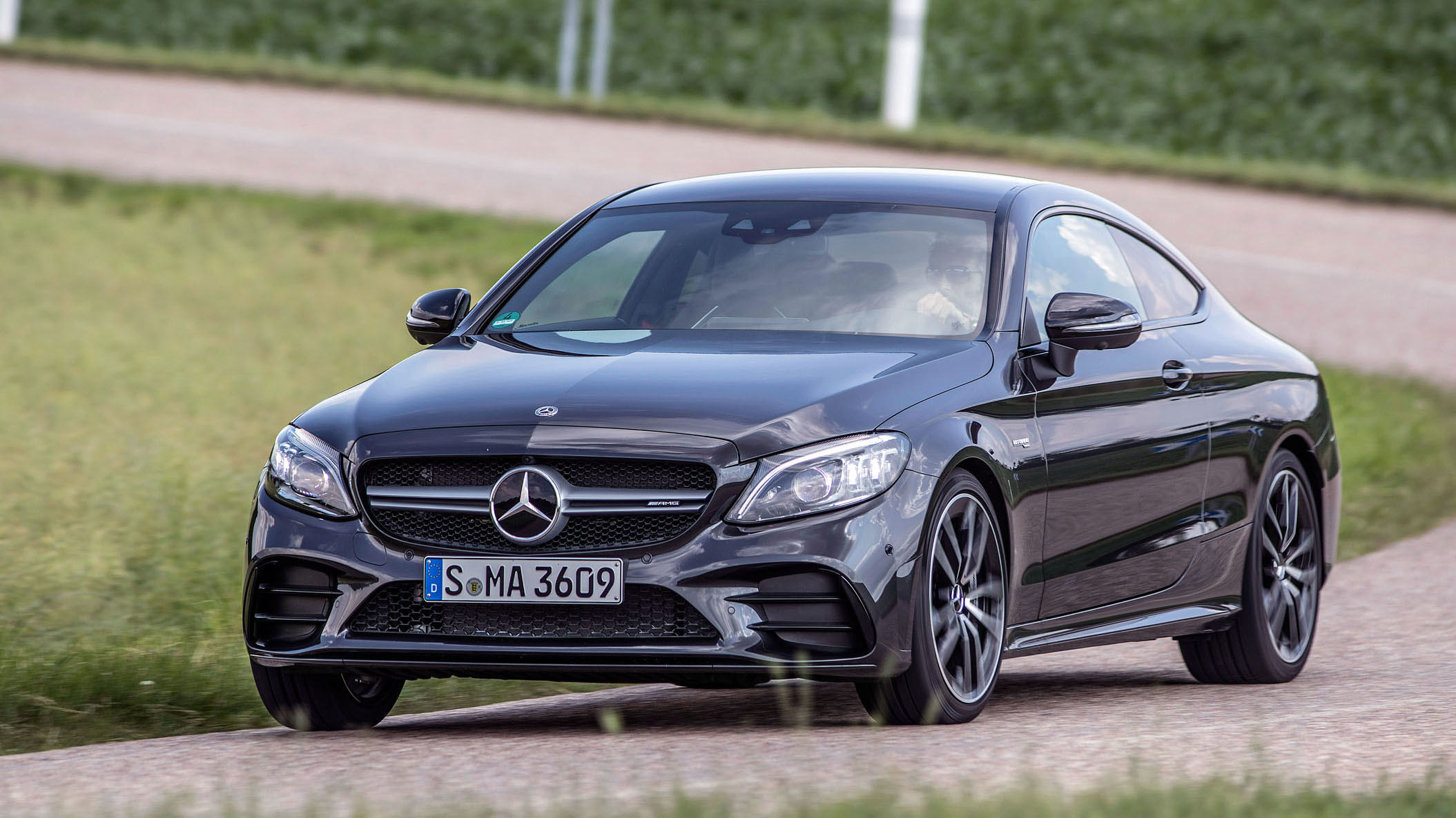 Mercedes Benz Of North Haven Home Facebook >> 2019 Mercedes Benz C 300 And Amg C 43 Road Test Review Autoblog