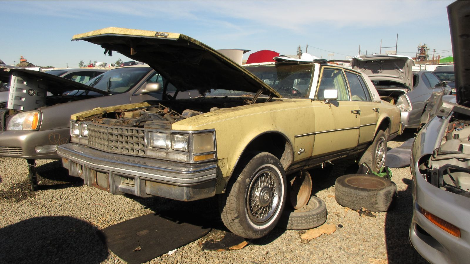 1976 Cadillac Seville, based on a Chevy Nova, is now a ...