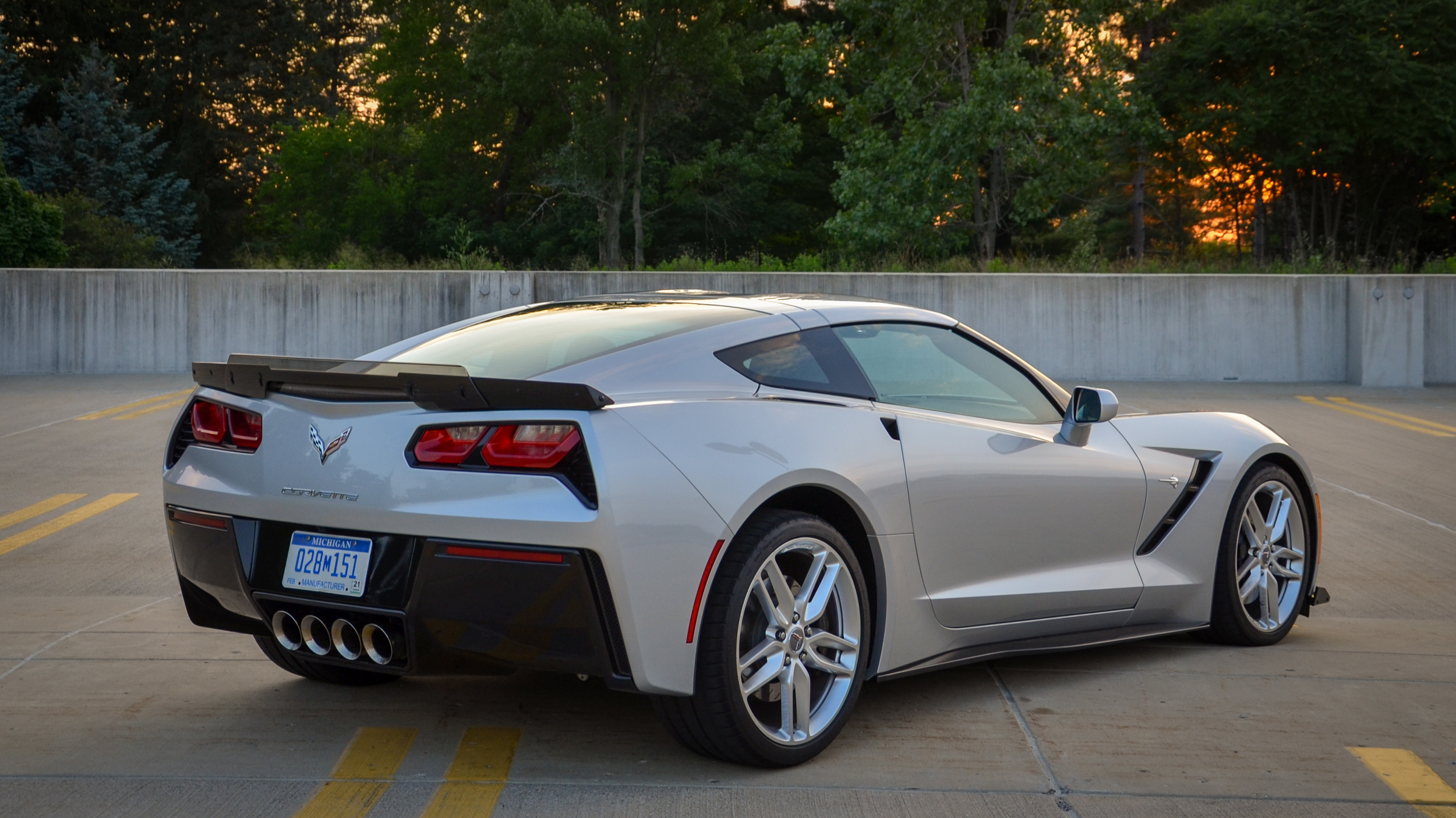 2019 Chevy Corvette Stingray Z51 Drivers' Notes Quick Spin ...