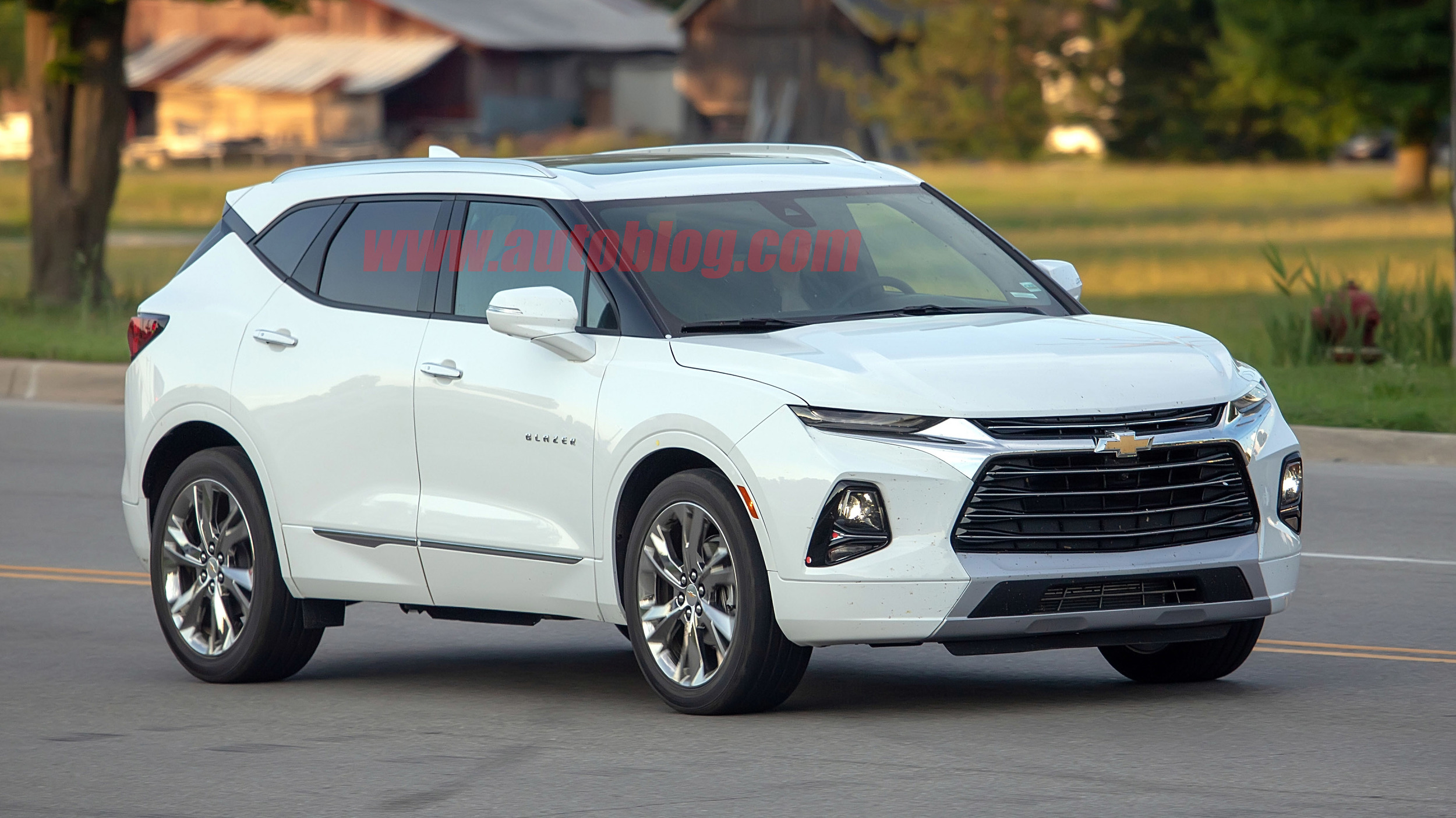 2019 Chevy Blazer spied for the first time uncovered on ...