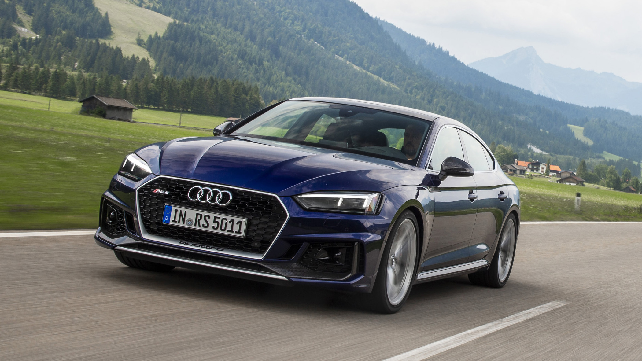 2019 Audi Rs 5 Sportback Street And Track Drive Review Autoblog
