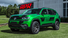 APR gives 2018 VW Atlas SUV more power, off-road abilities ...