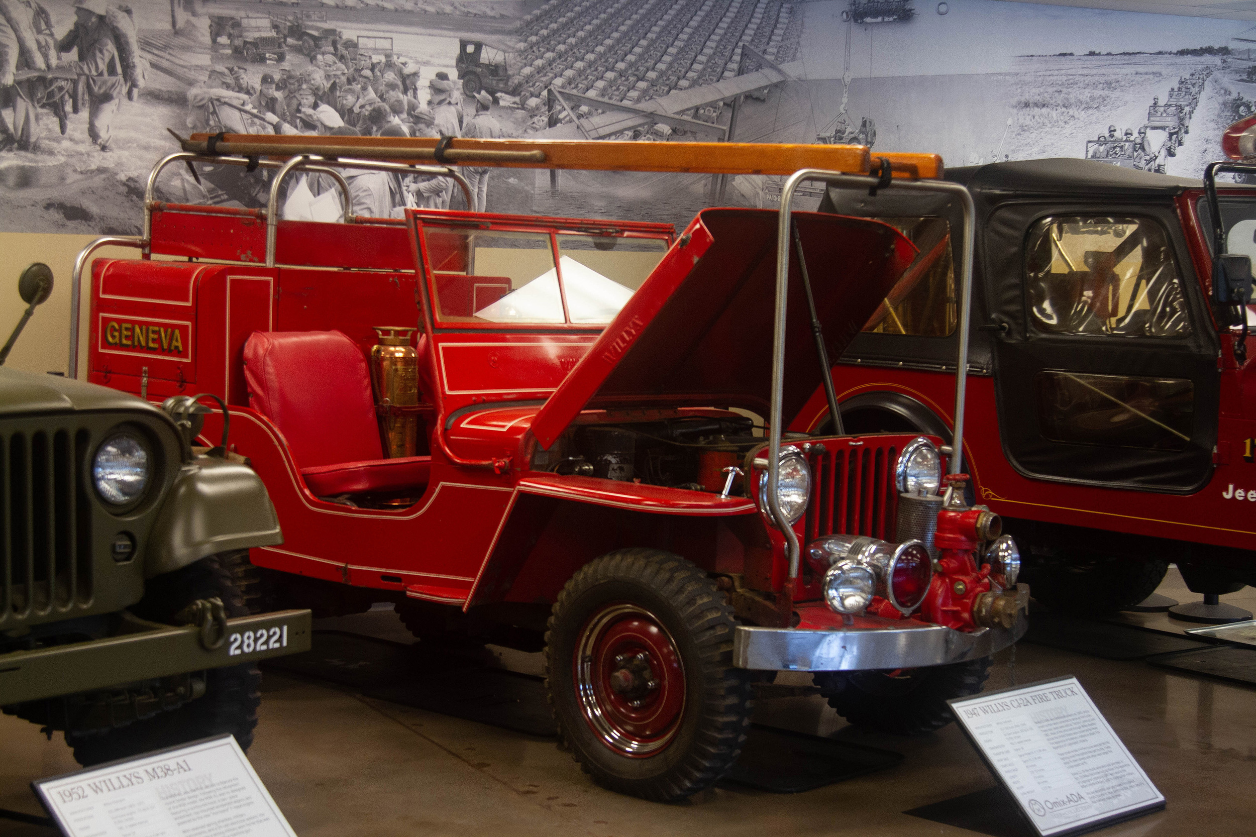 The Jeep Collection At Omix Ada Photo Gallery Autoblog 1941 To 1952 Willys