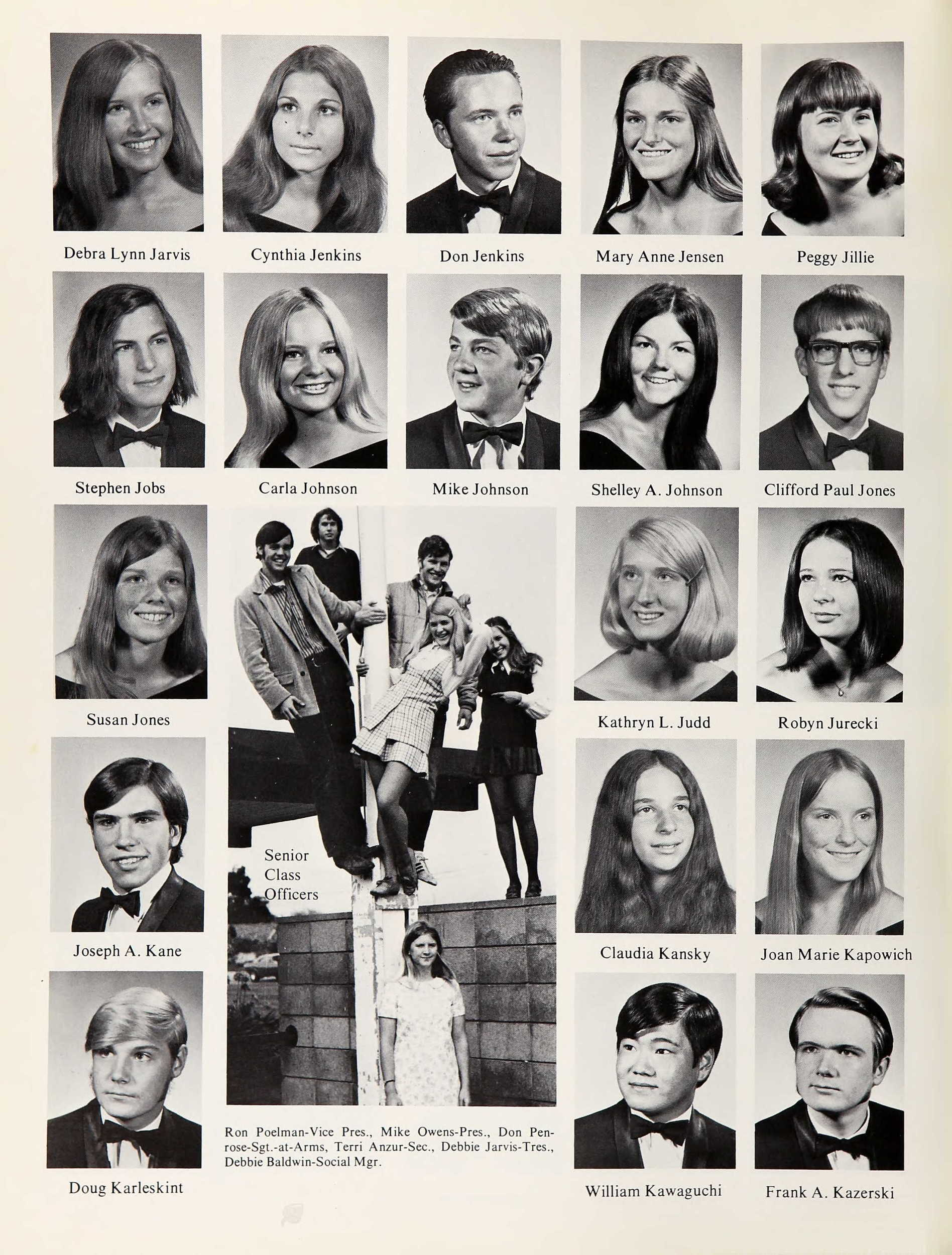 CEO yearbook photos: Look back at Warren Buffett, Steve Jobs and more when they were in high school