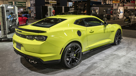 2019 Chevy Camaro Shows Off New Color Ss Fascia At Sema Autoblog