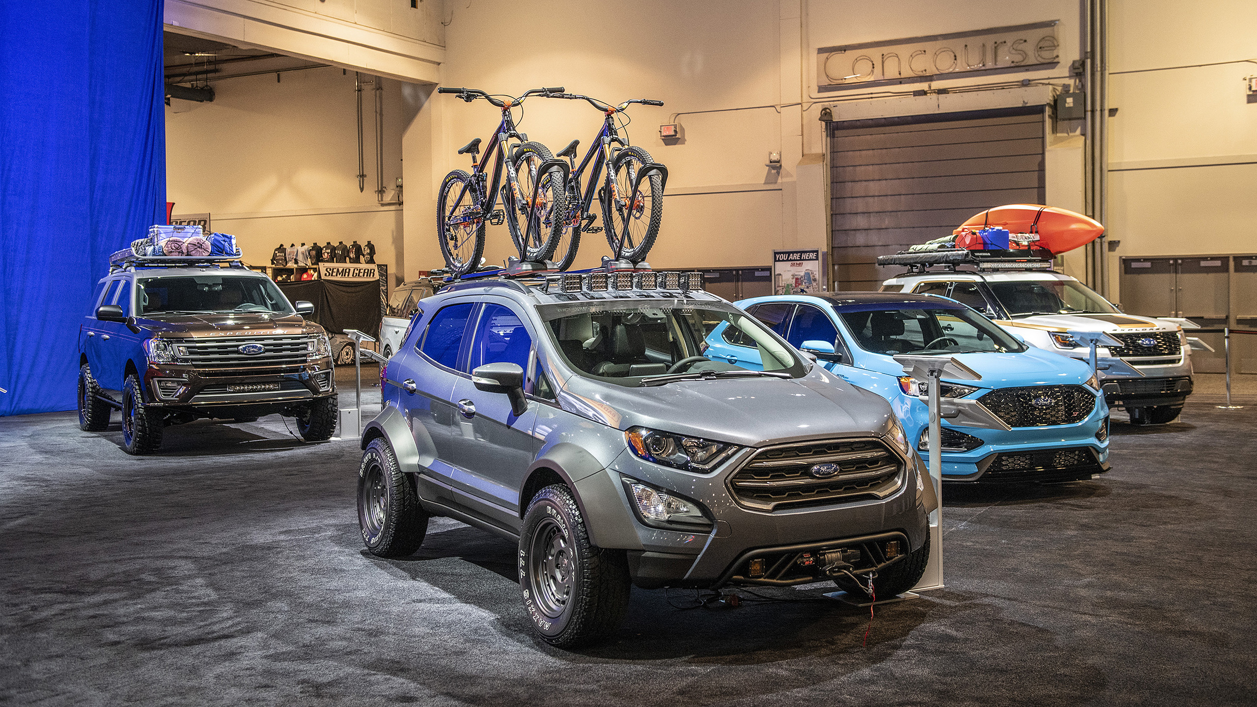2016 Ford Explorer For Sale >> 2019 Ford Edge ST, EcoSport, Expedition, Explorer SEMA ...