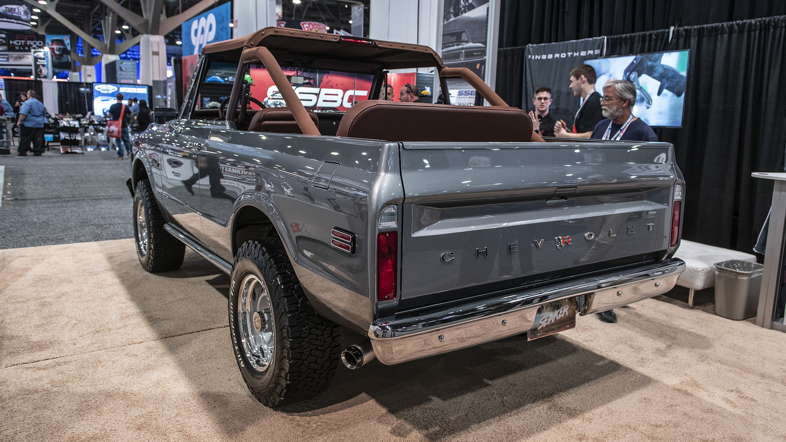 Ring Brothers 1971 Chevy K5 Blazer Seaker Sema 2018 Photo Gallery