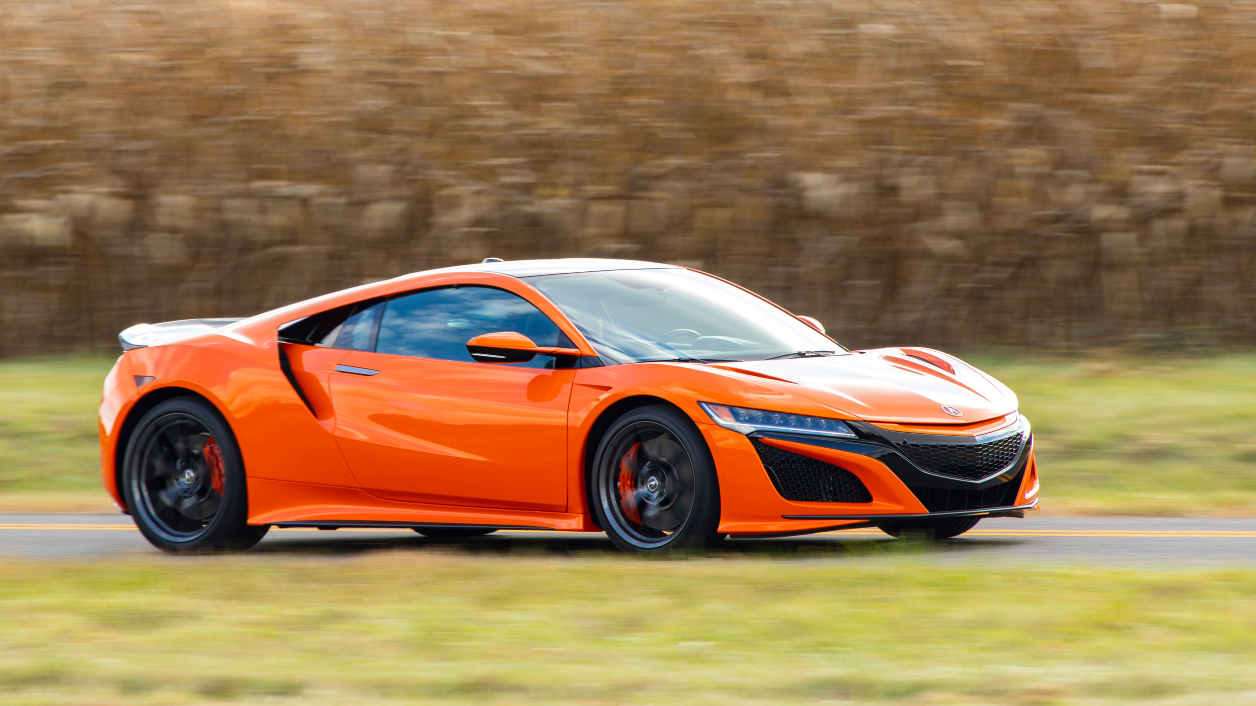 2019 acura nsx review on track