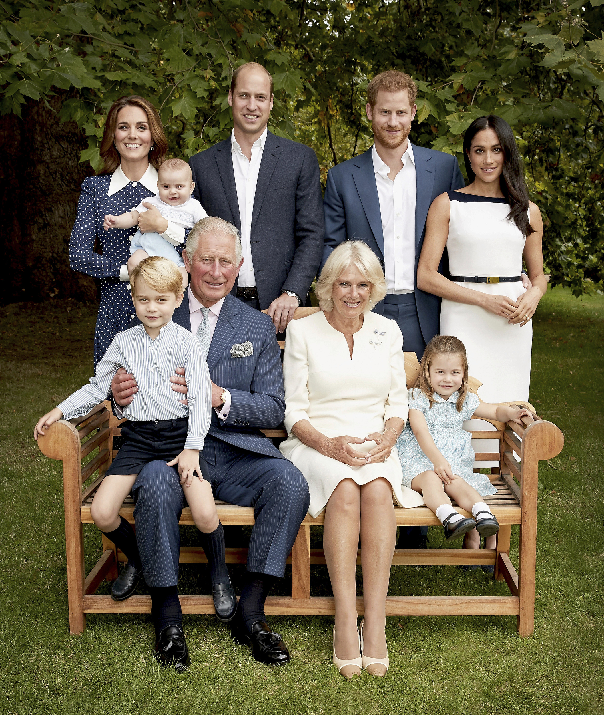 Palace releases two adorable photos of Prince Louis playing with Prince Charles: Pics!