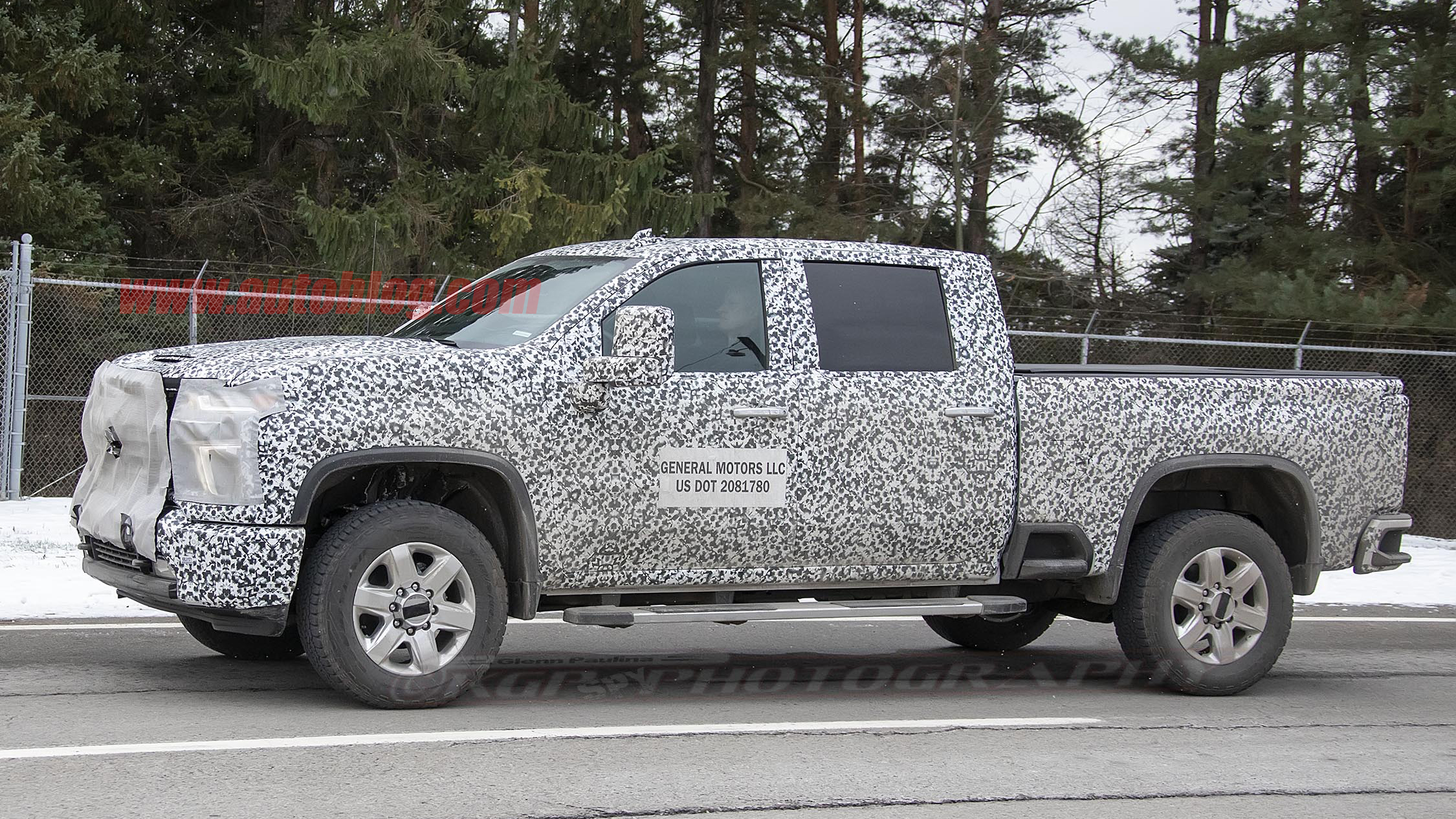 2020 Chevy Silverado HD grille, lights partly revealed ...