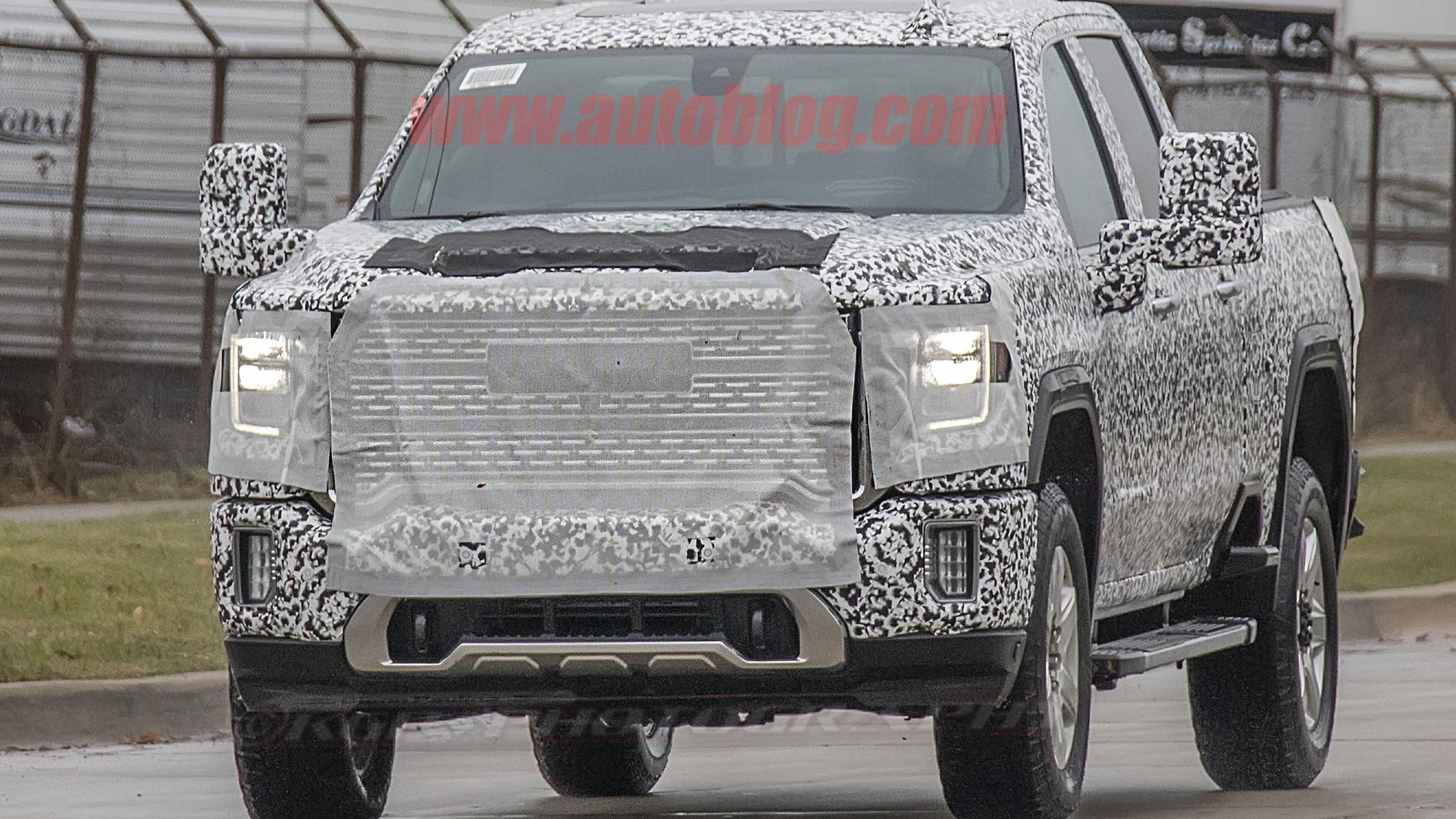 2020 GMC Sierra 2500 HD and 3500 HD spy photos | Autoblog