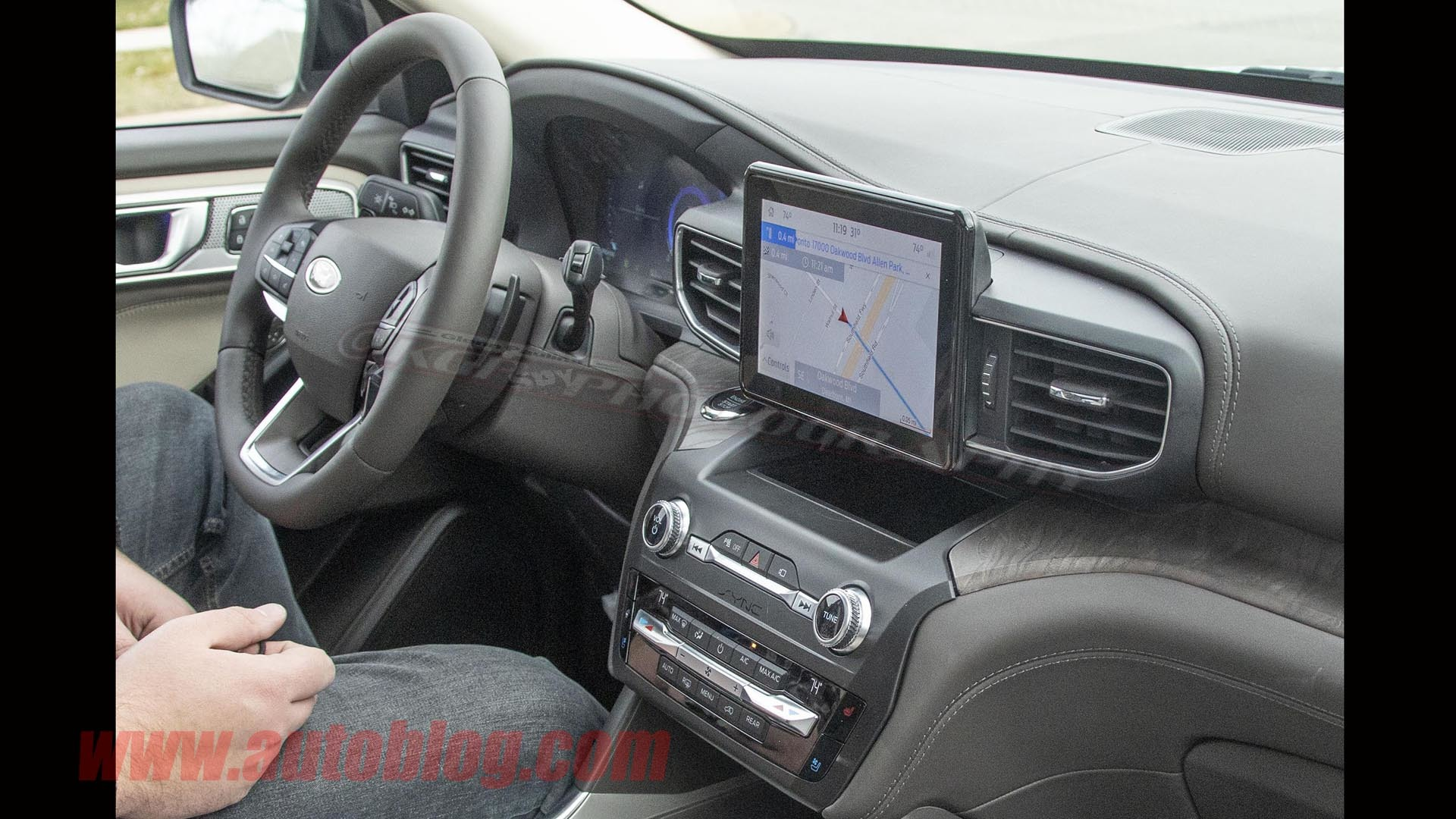 ford explorer full interior exposed  spy