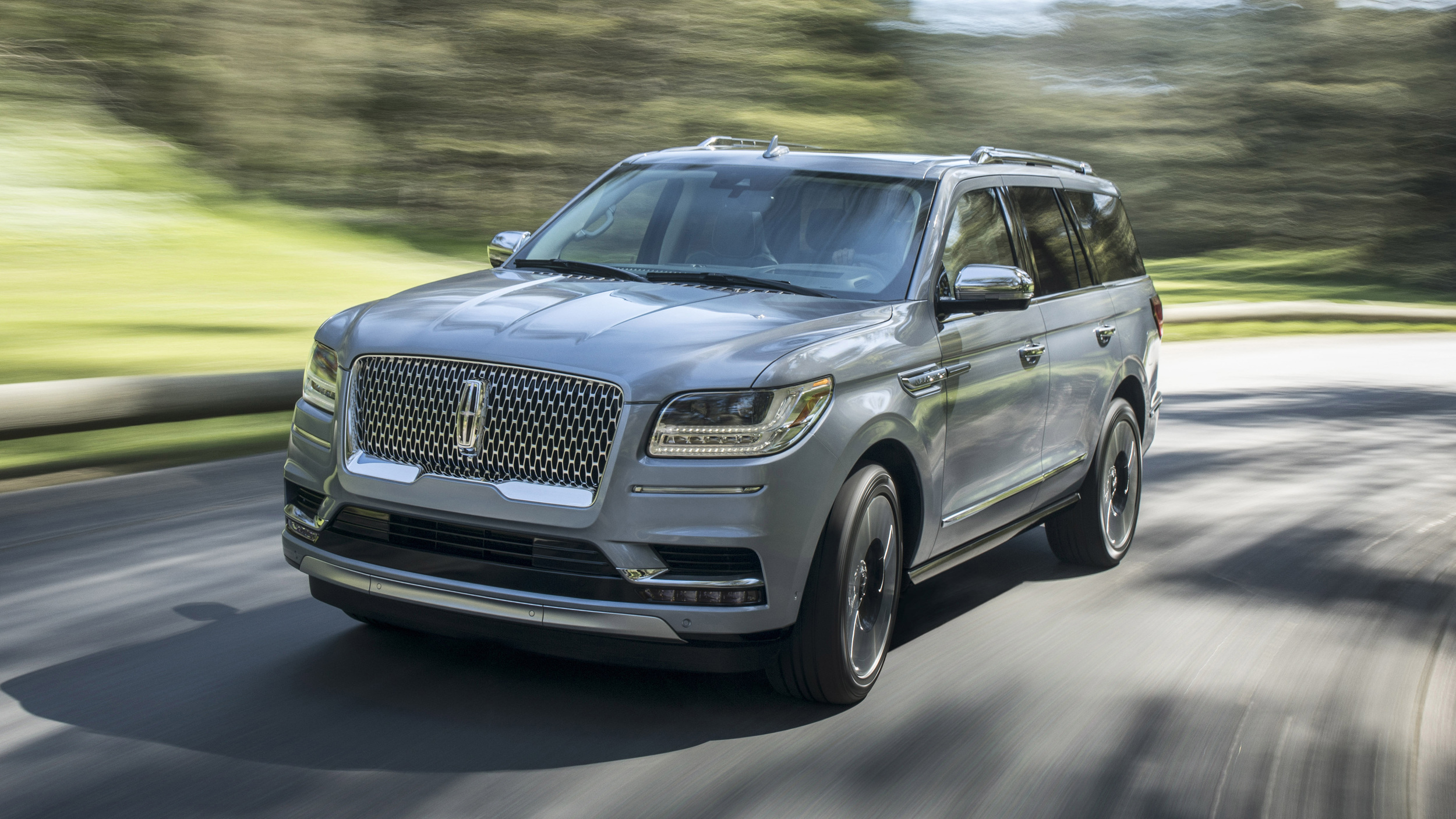 2018 Lincoln Navigator Black Label Quick Spin Review Autoblog