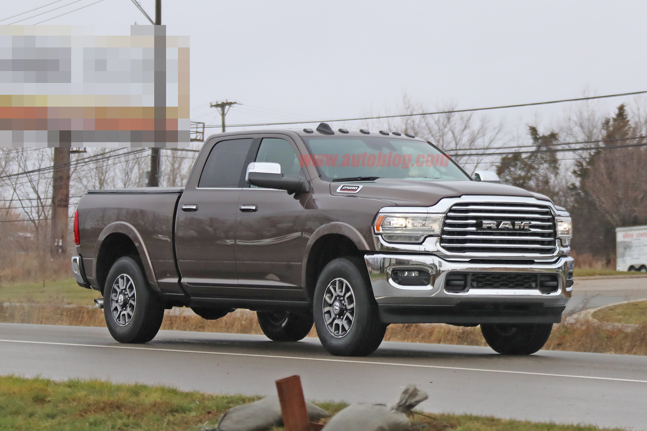 2020 Ram Hd Trucks Revealed In Spy Photos Totally