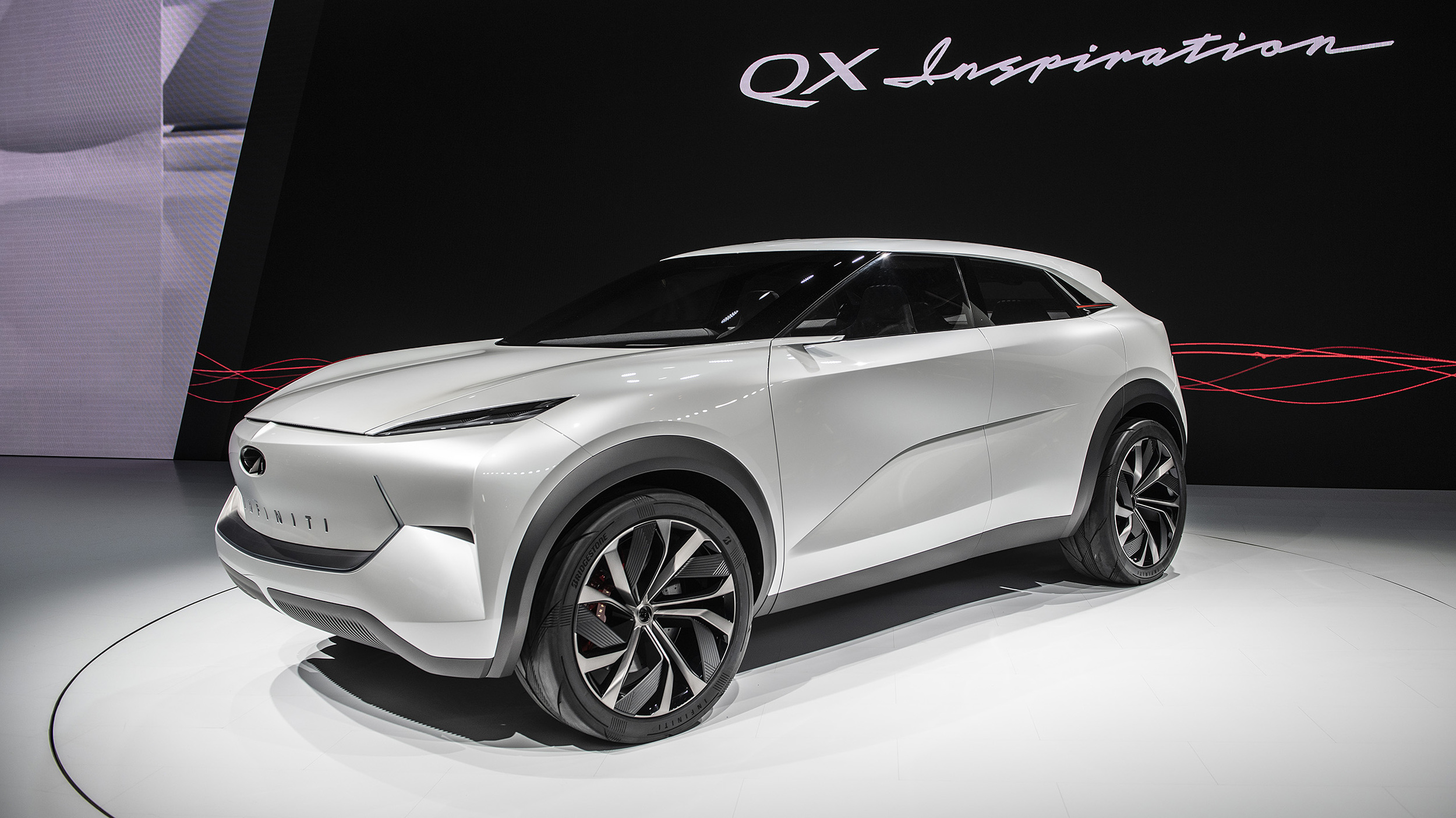 Certified Pre Owned Infiniti >> Infiniti QX Inspiration electric SUV concept makes its ...