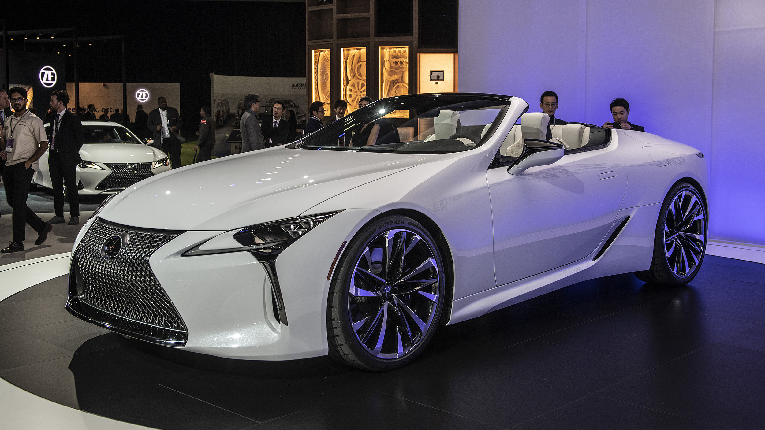 Lexus Certified Pre Owned >> Lexus LC Convertible could be coming to the Goodwood ...