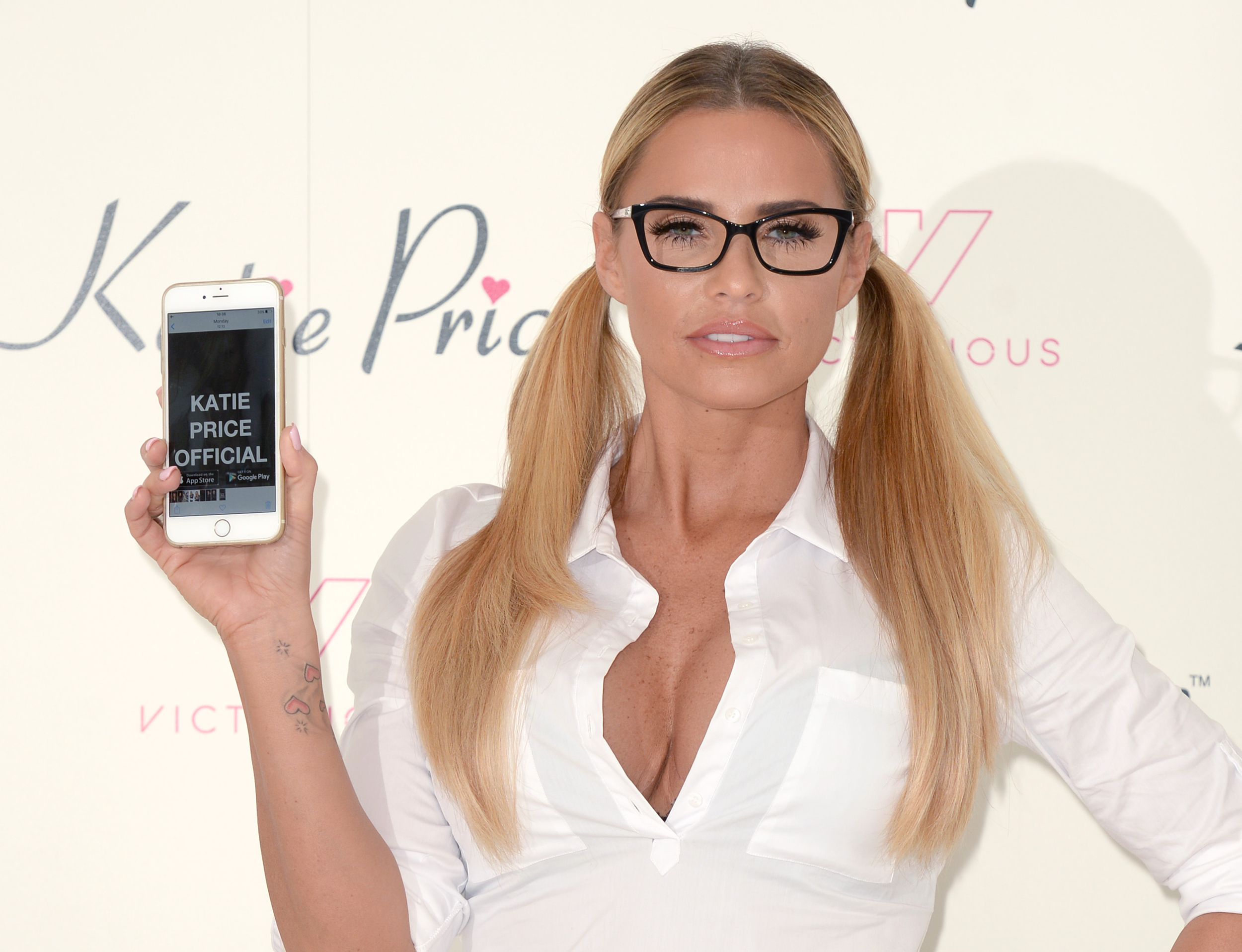 Katie Price hits back at online abuse over putting Harvey ...