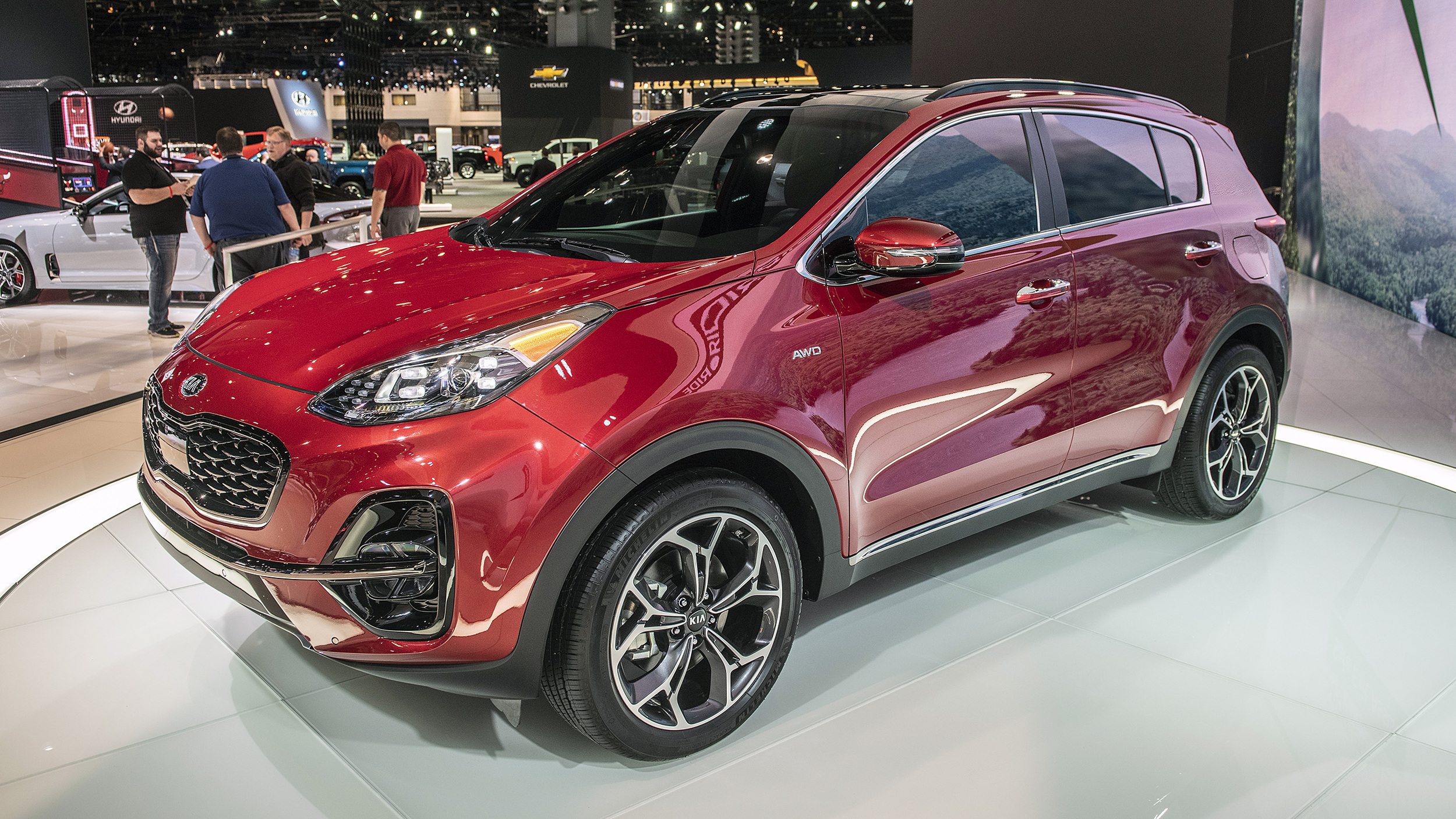 2020 kia sportage: here's a look at this updated compact