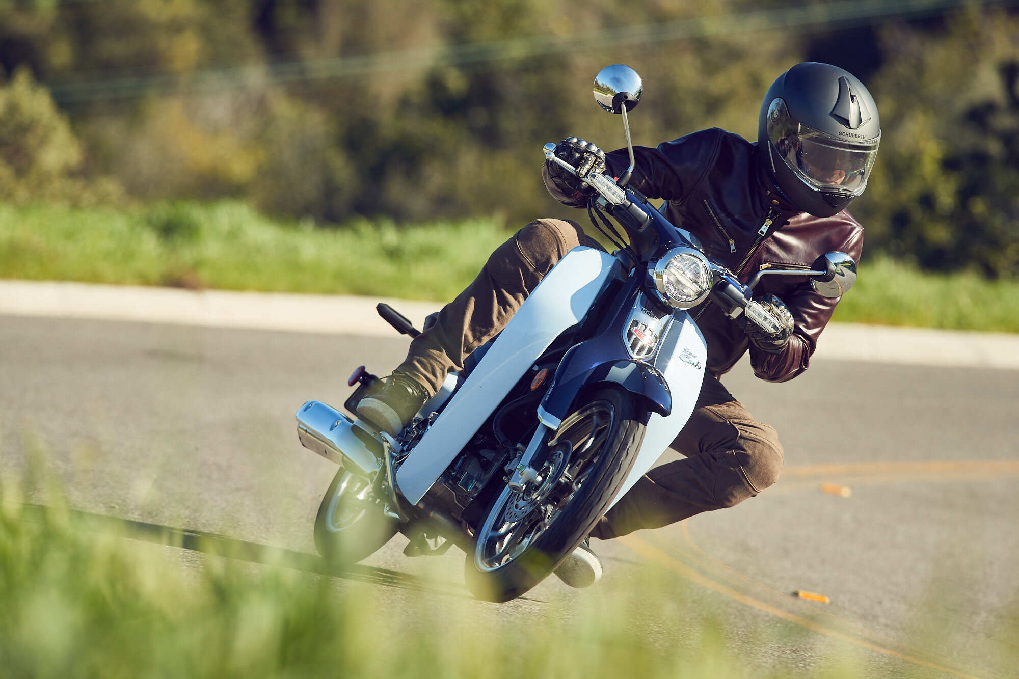 2019 Honda Super Cub motorcycle riding review and information | Autoblog
