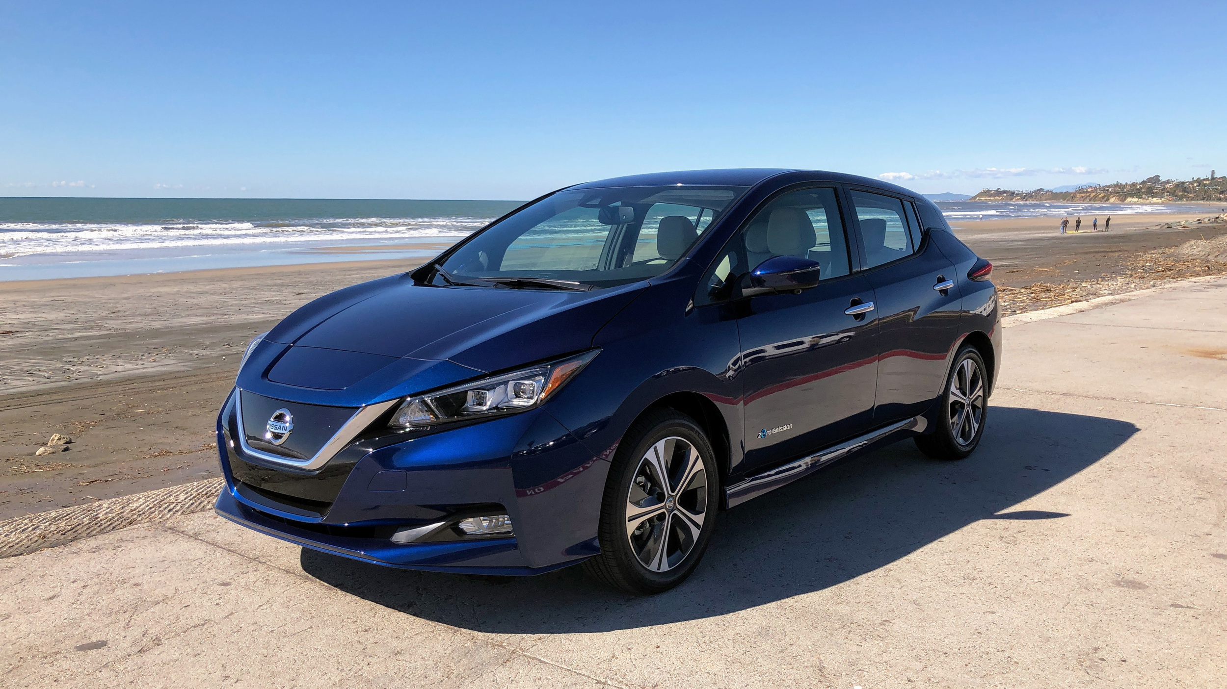 2019 nissan leaf plus road test review with specs