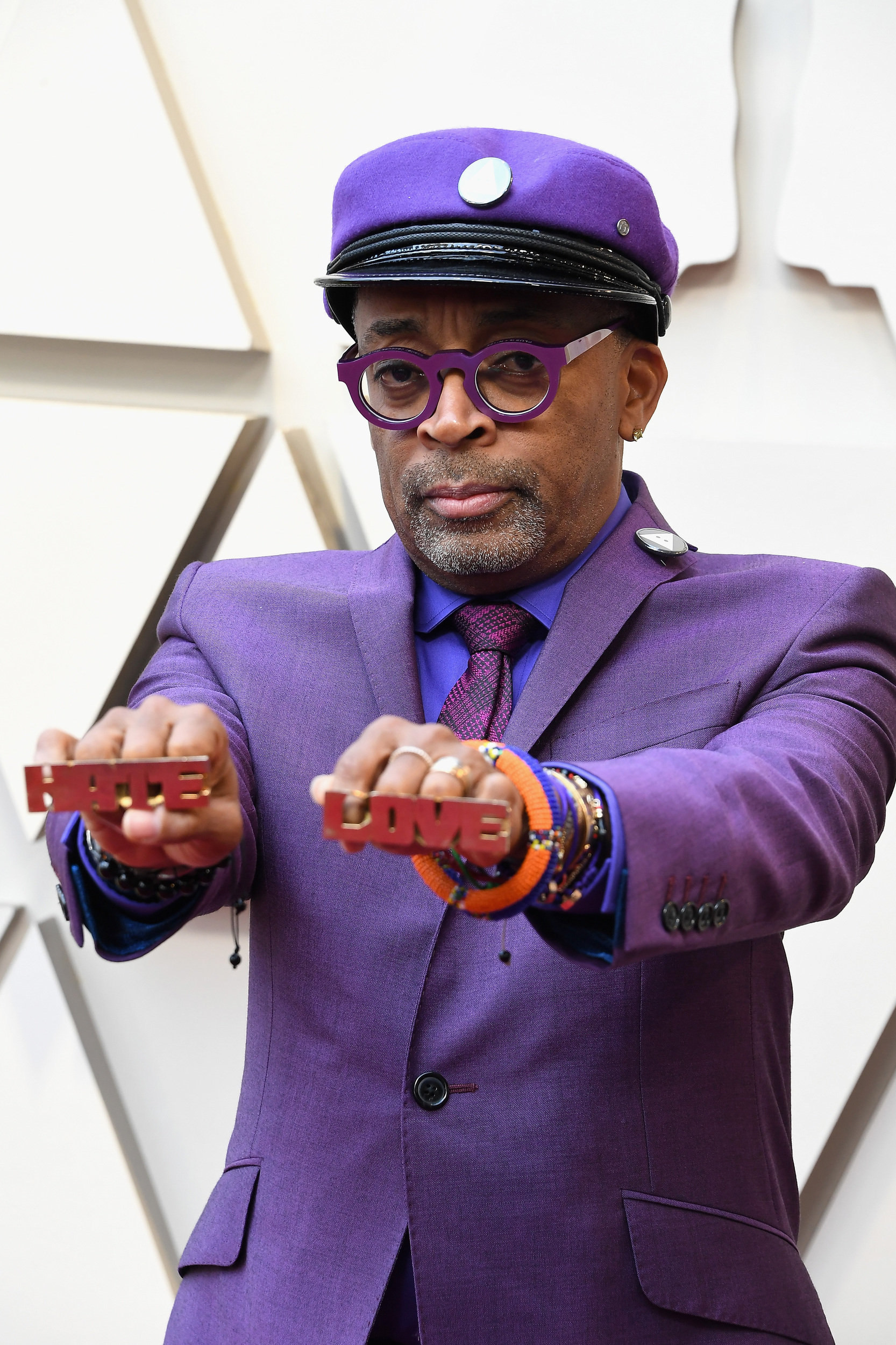 """We re not entirely sure why Spike Lee chose this particular red carpet topay tribute to Prince(along with his 1989 classic """"Do the Right Thing"""") but we re glad he did."""