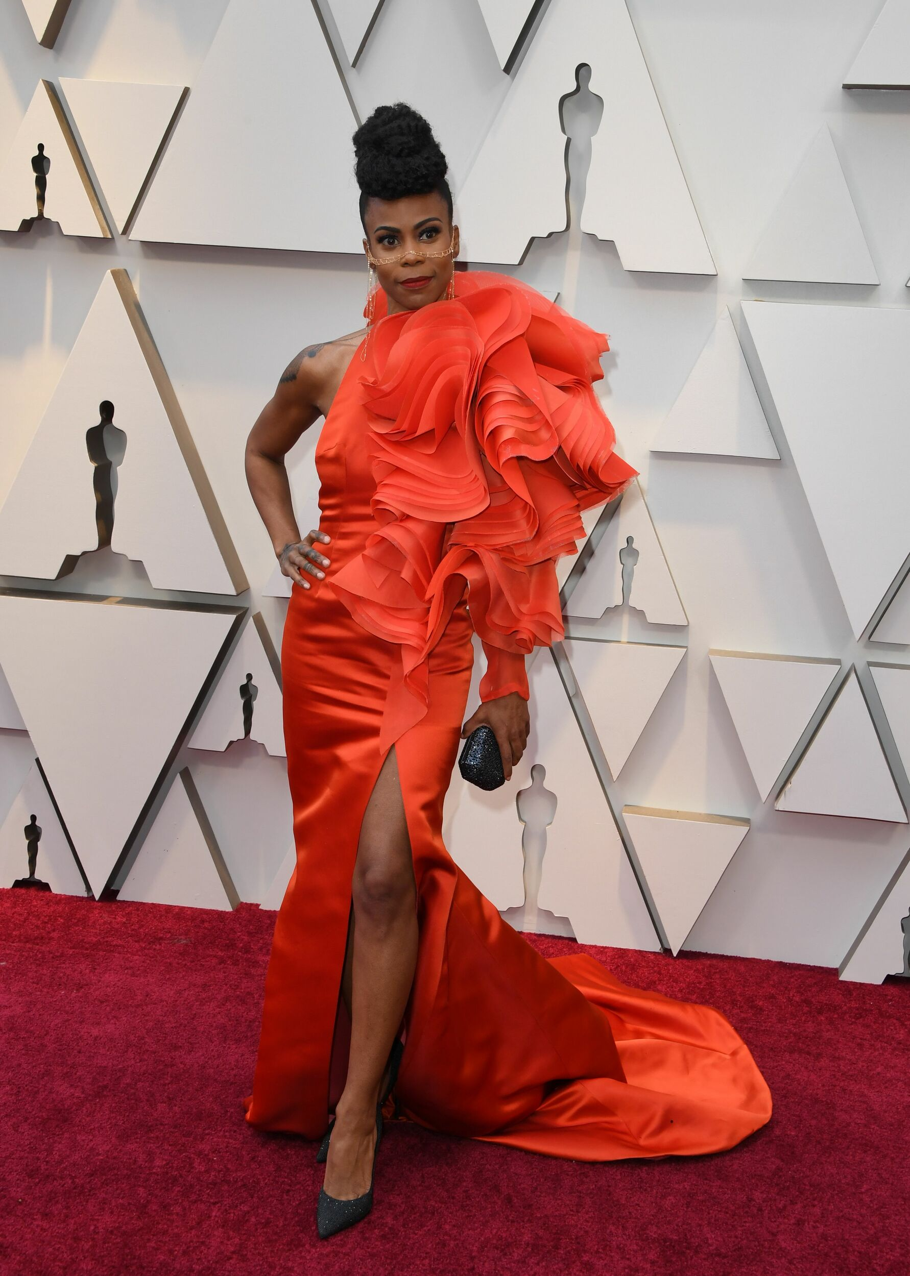 "As the production designer for ""Black Panther"" and Beyoncé s ""Lemonade,"" Hannah Beachler is one of the only people on Planet Earth who can pull this dress off."